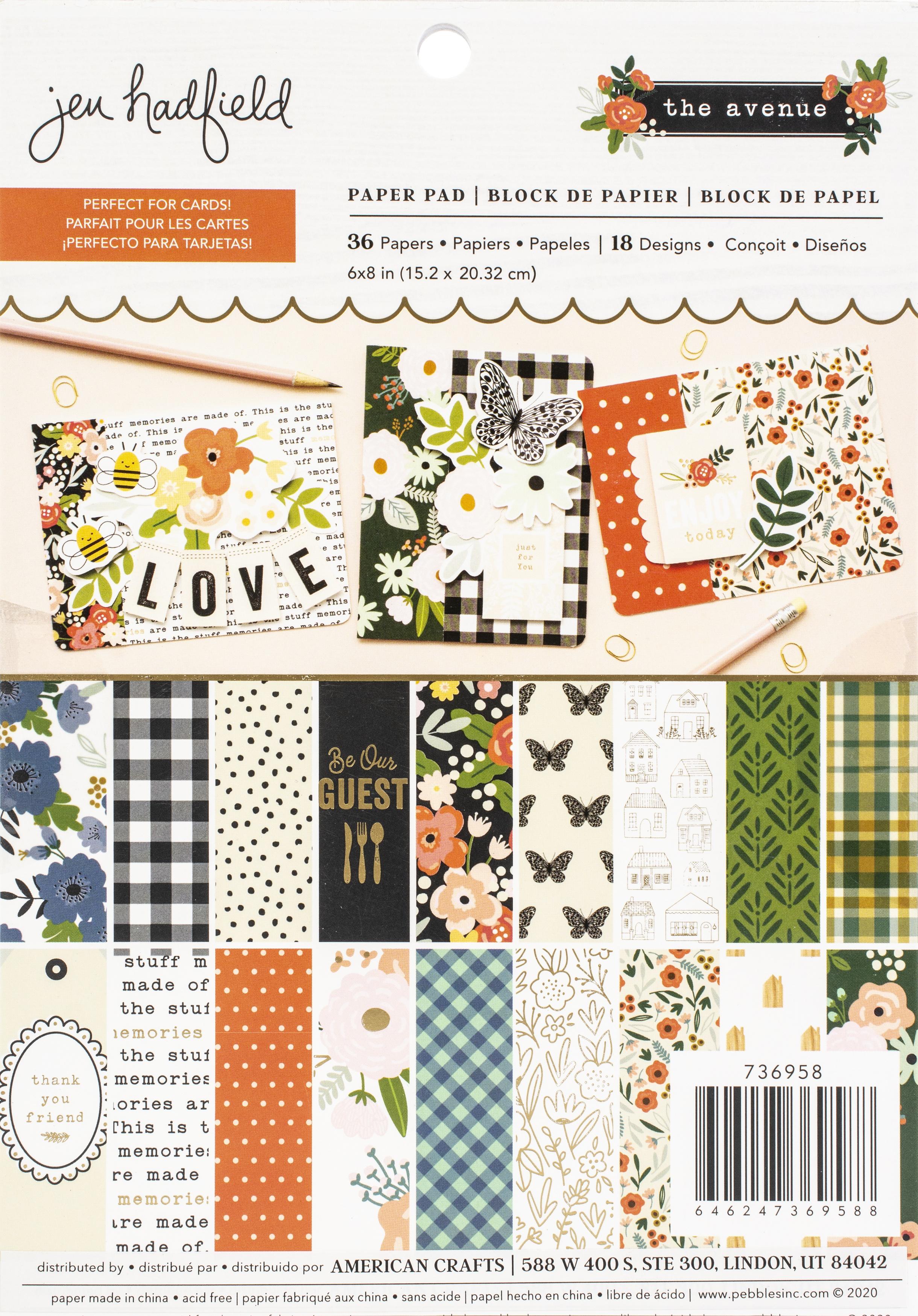 Jen Hadfield The Avenue - 6x8 Paper Pad