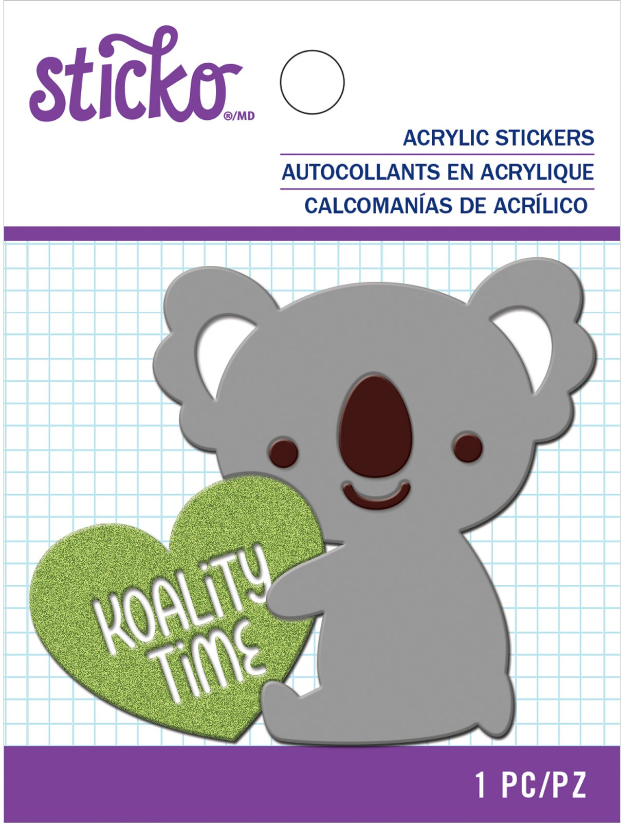 Sticko Acrlic Sticker-Quality Time