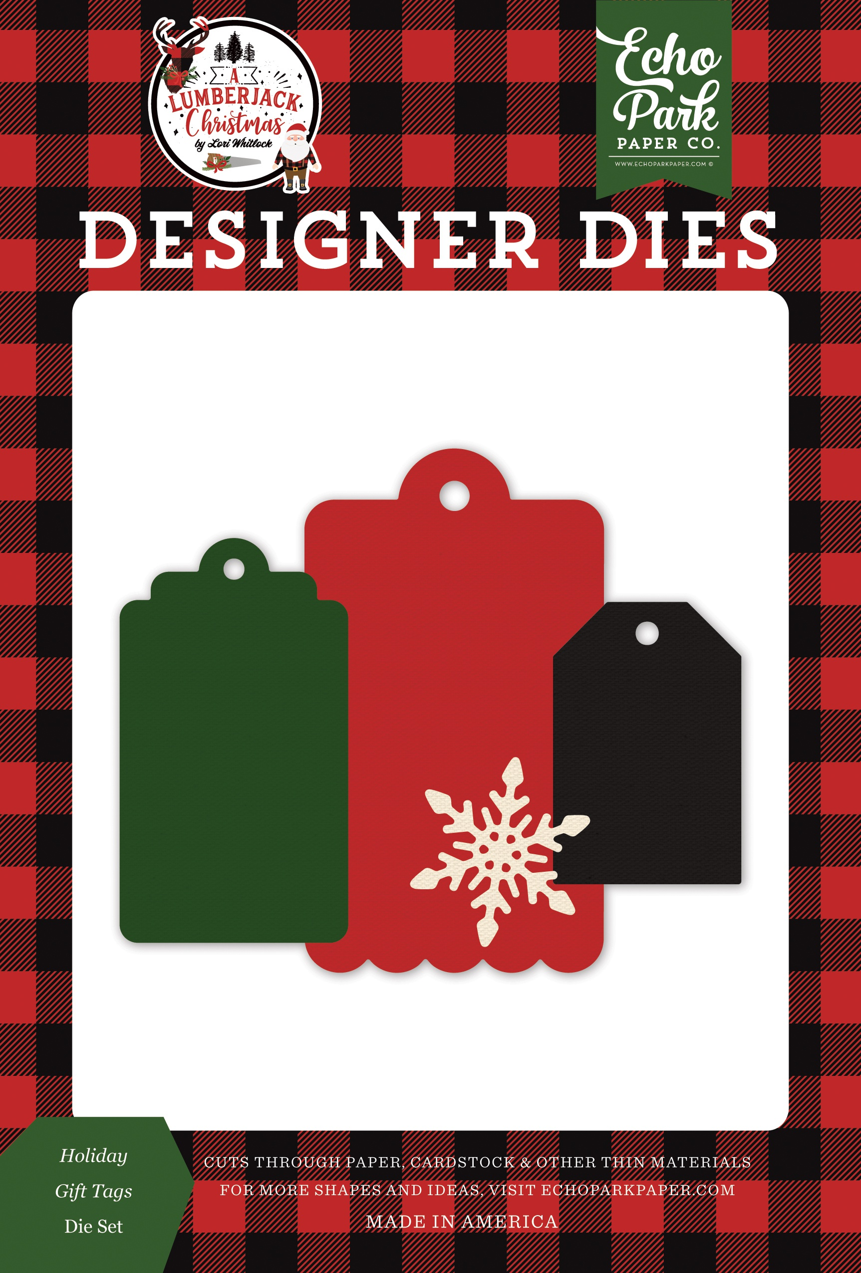 Echo Park Dies-Holiday Gift Tags