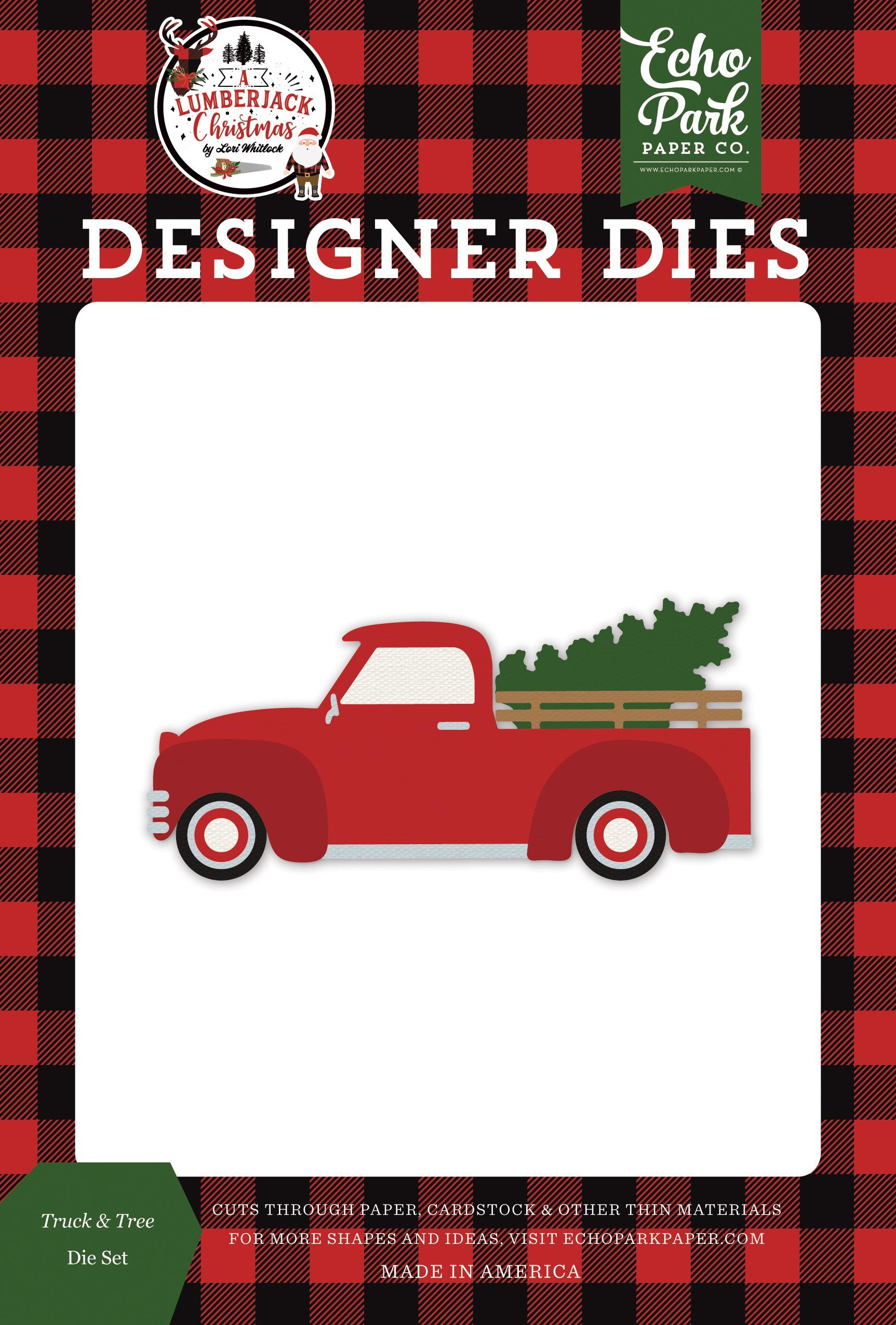 Echo Park Truck & Tree Die Set (A Lumberjack Christmas)