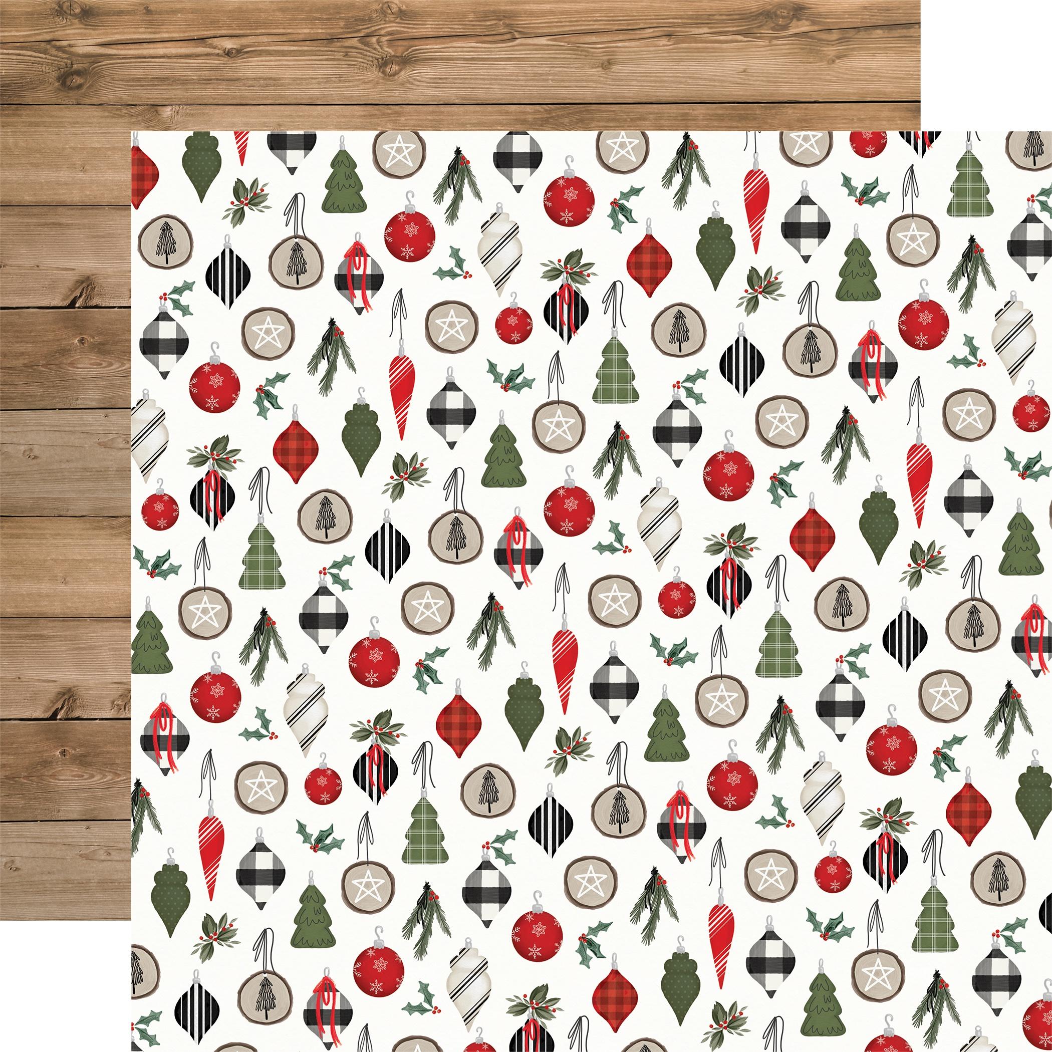Carta Bella Farmhouse Christmas - Ornaments