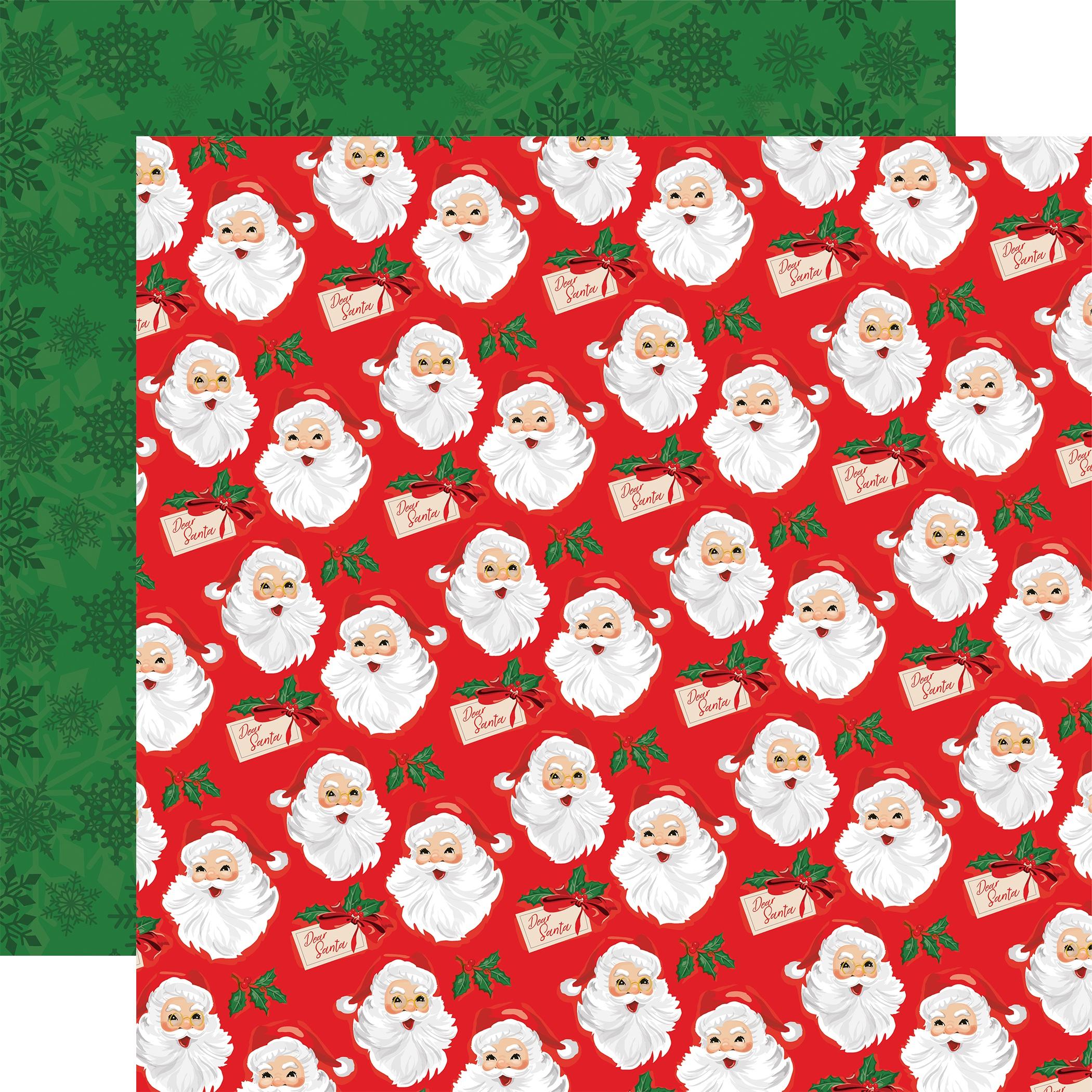 Carta Bella Dear Santa Double-Sided Cardstock 12x12- Gifts For Santa