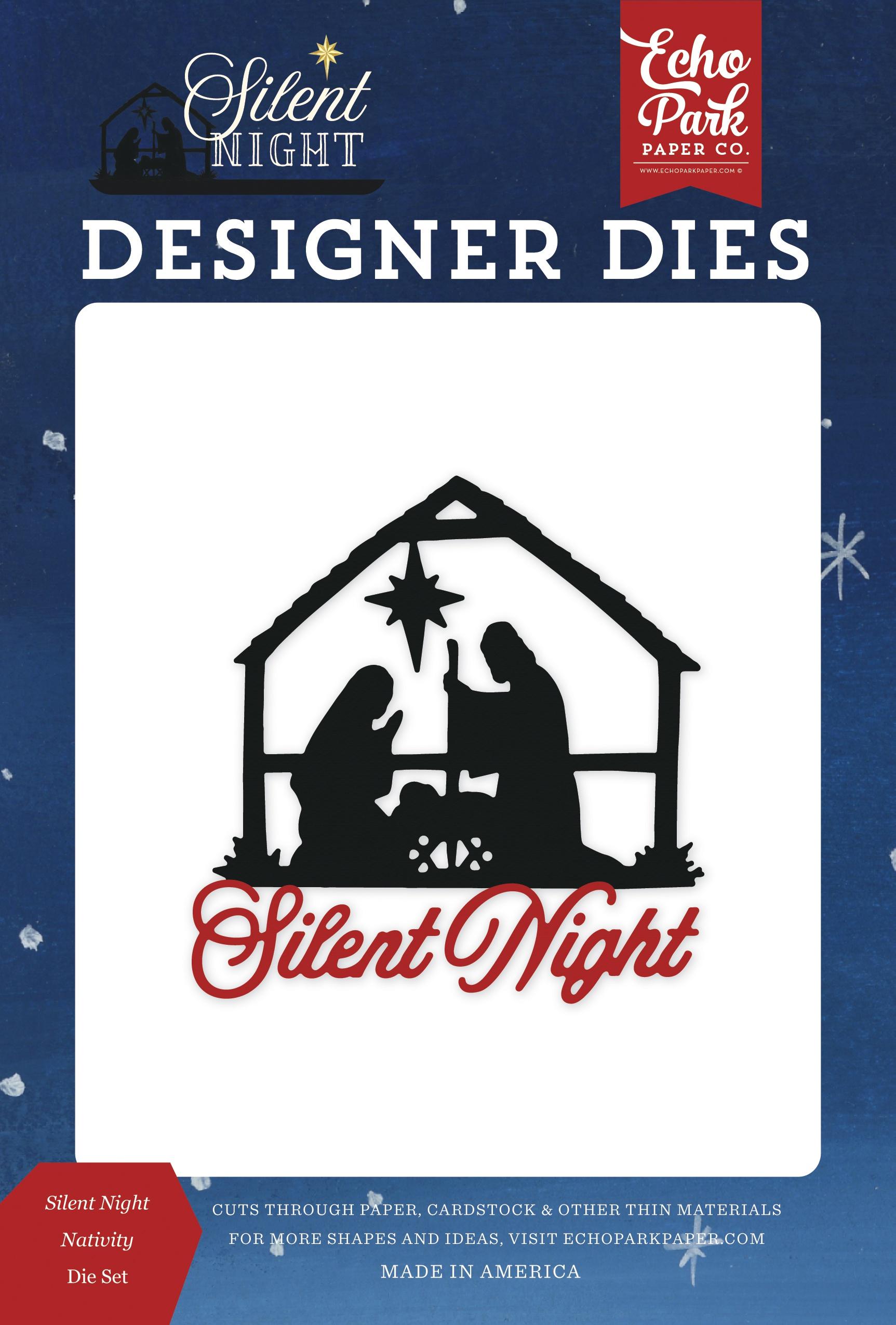 Echo Park Dies-Silent Night Nativity