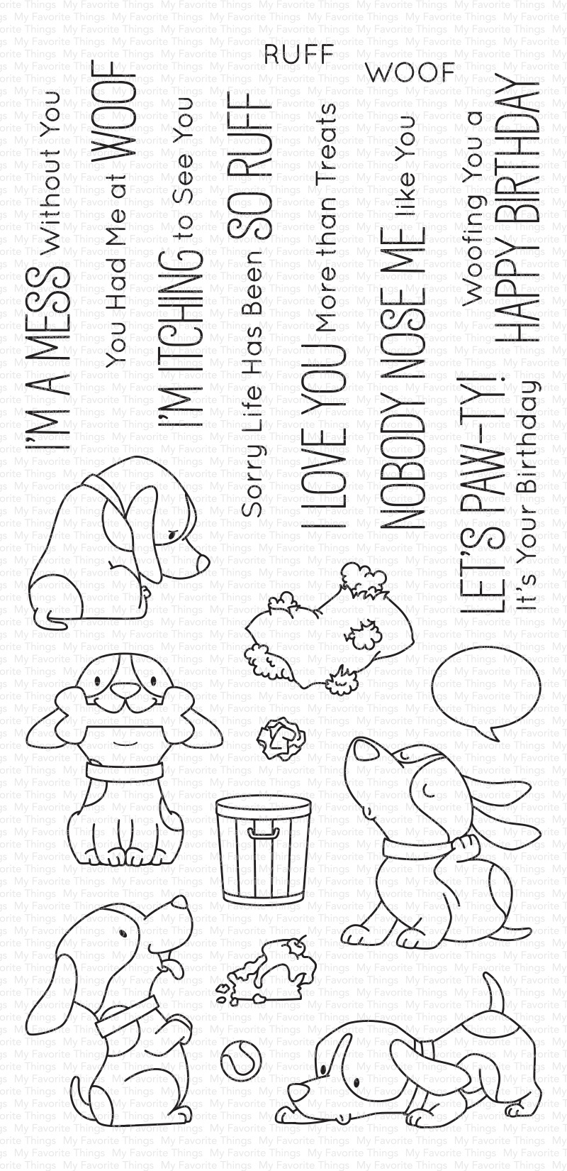 Woof Pack Stamp