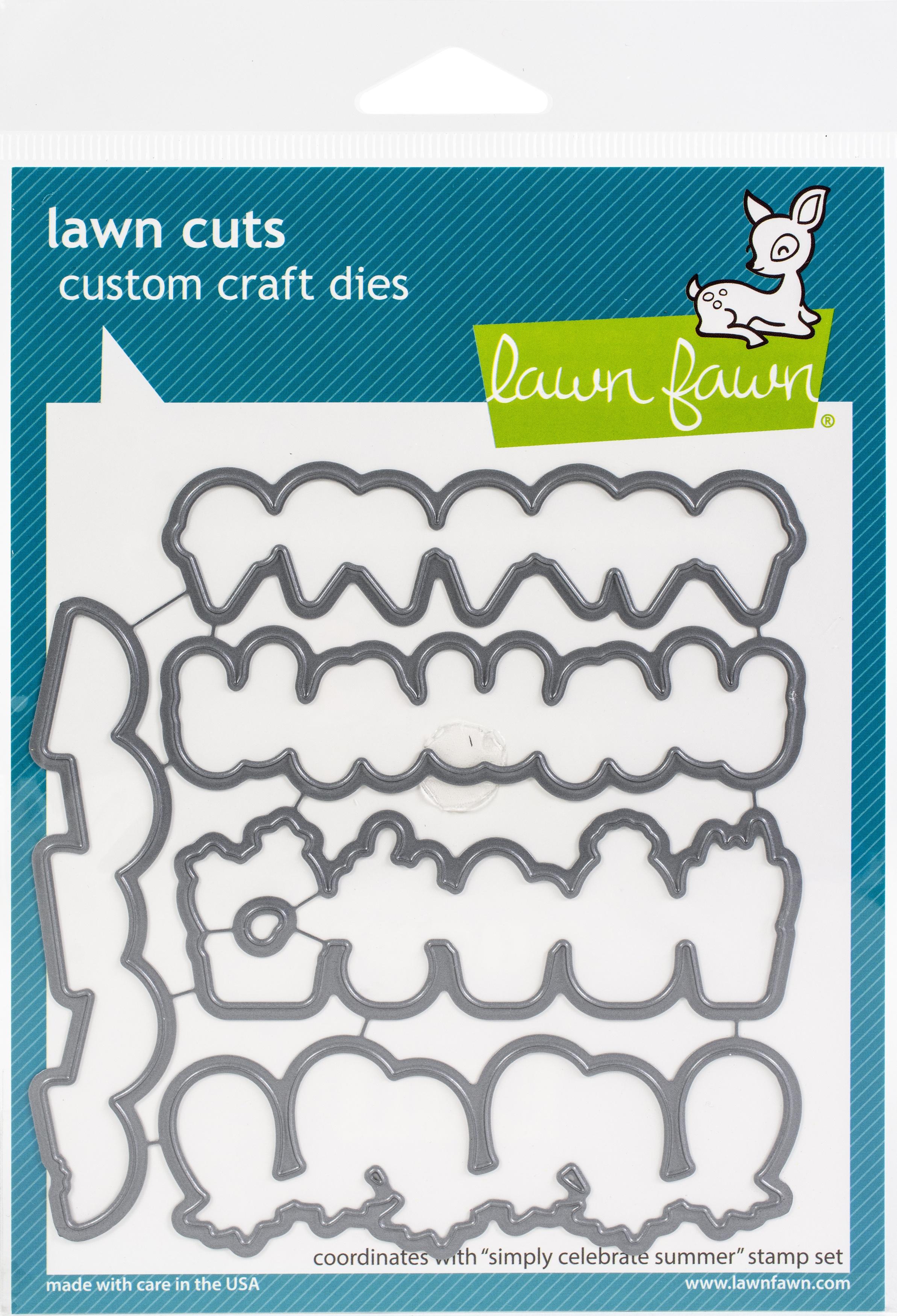 Lawn Cuts Custom Craft Die -Simply Celebrate Summer