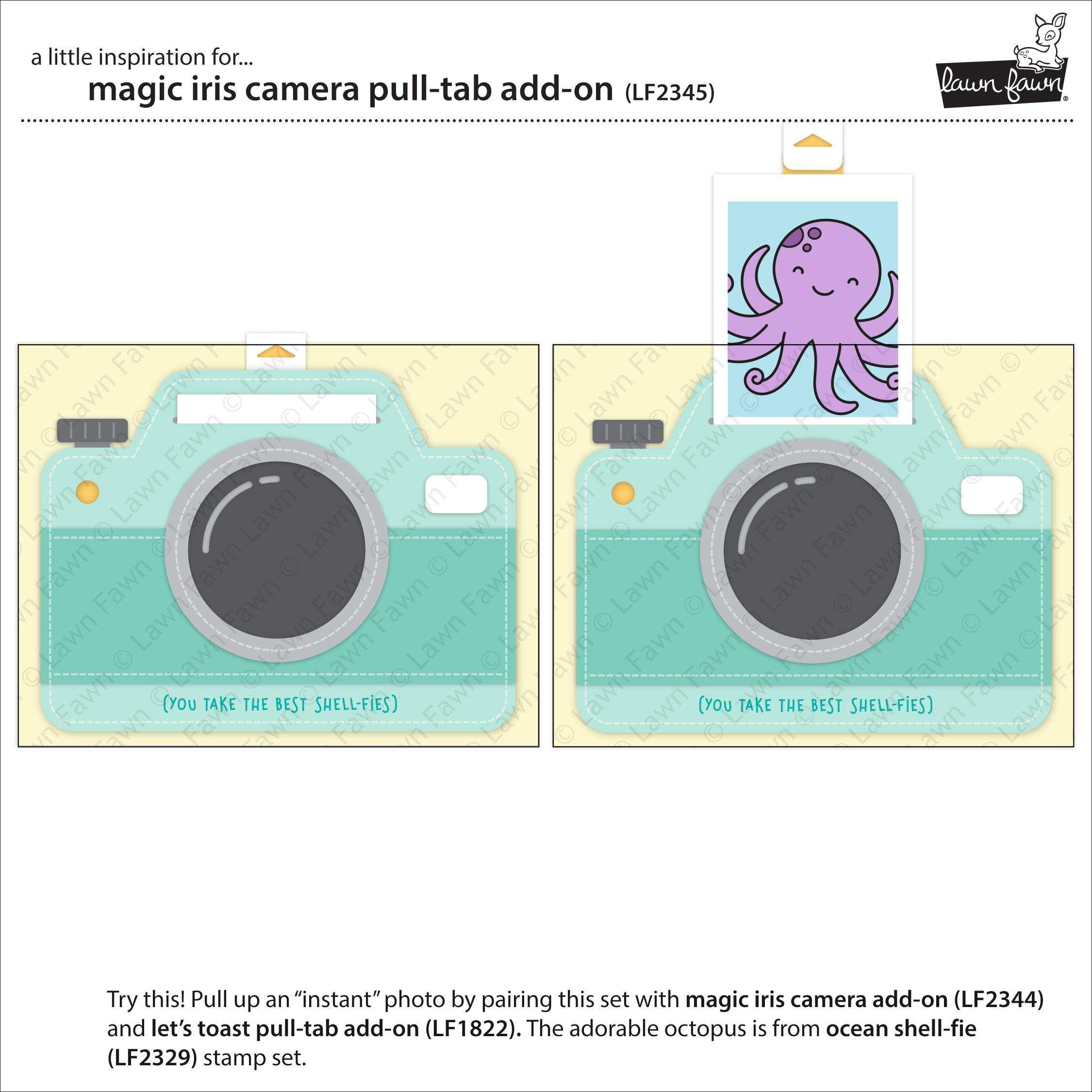 Magic Iris Camera Pull Tab Add