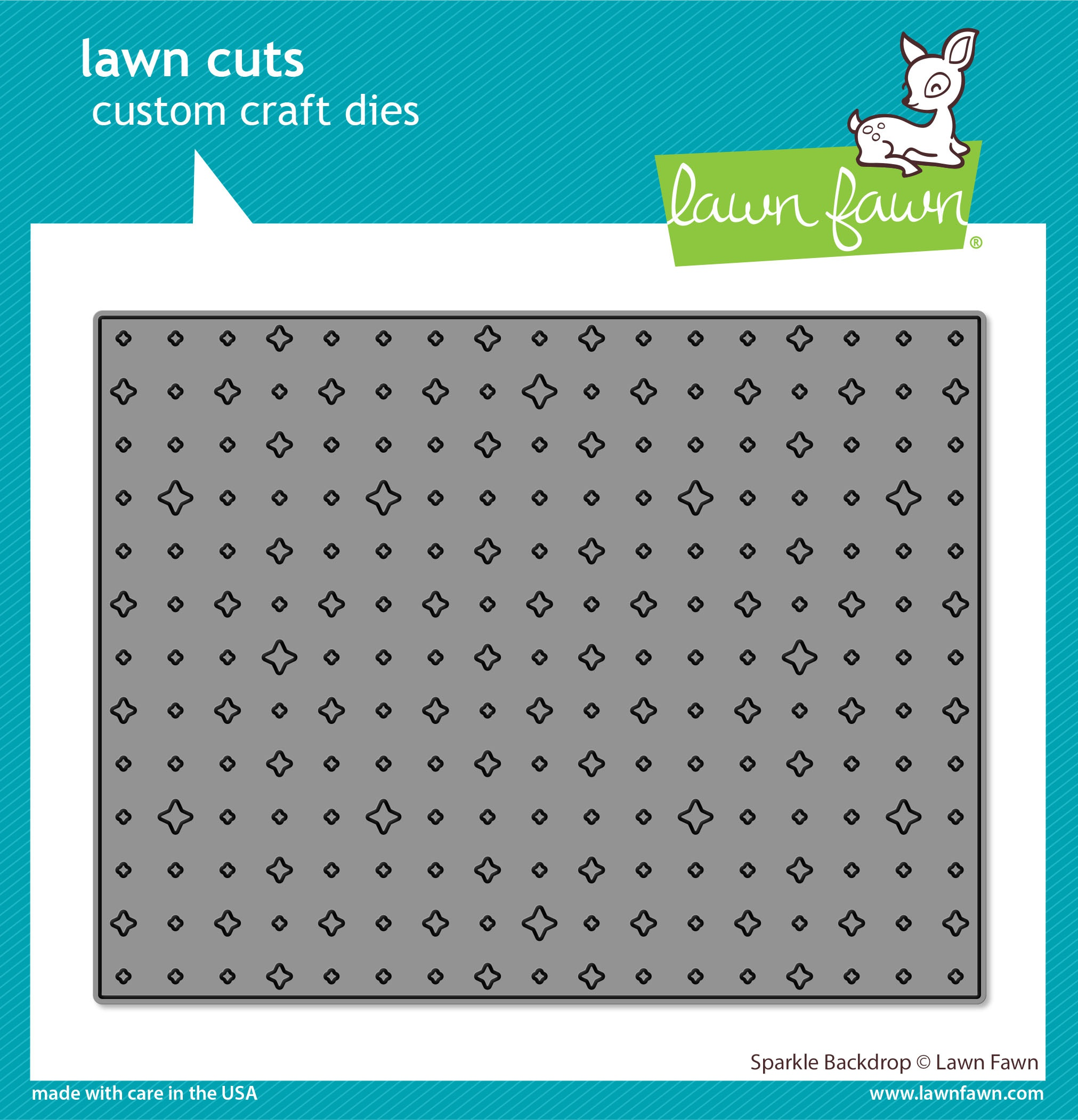 Lawn Cuts Custom Craft Die -Sparkle Backdrop