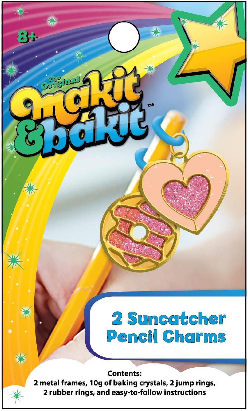 Makit & Bakit Suncatcher Kit-Pencil Charms 2/Pkg