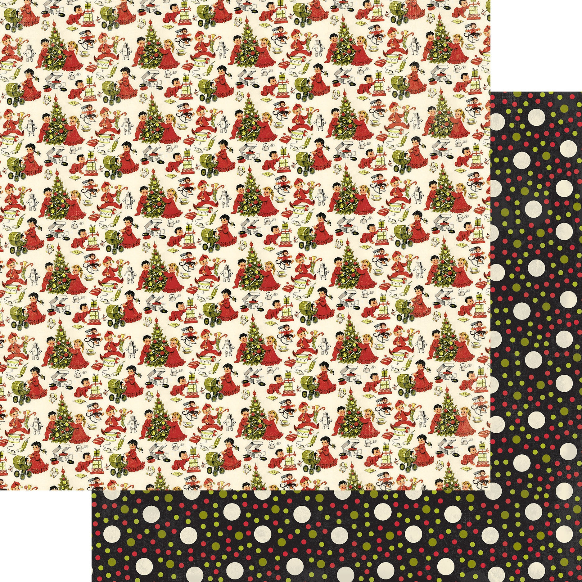 A Magical Christmas Cardstock - All Styles