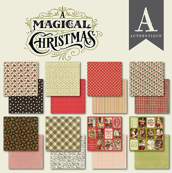 A Magical Christmas Cardstock Pad 6X6