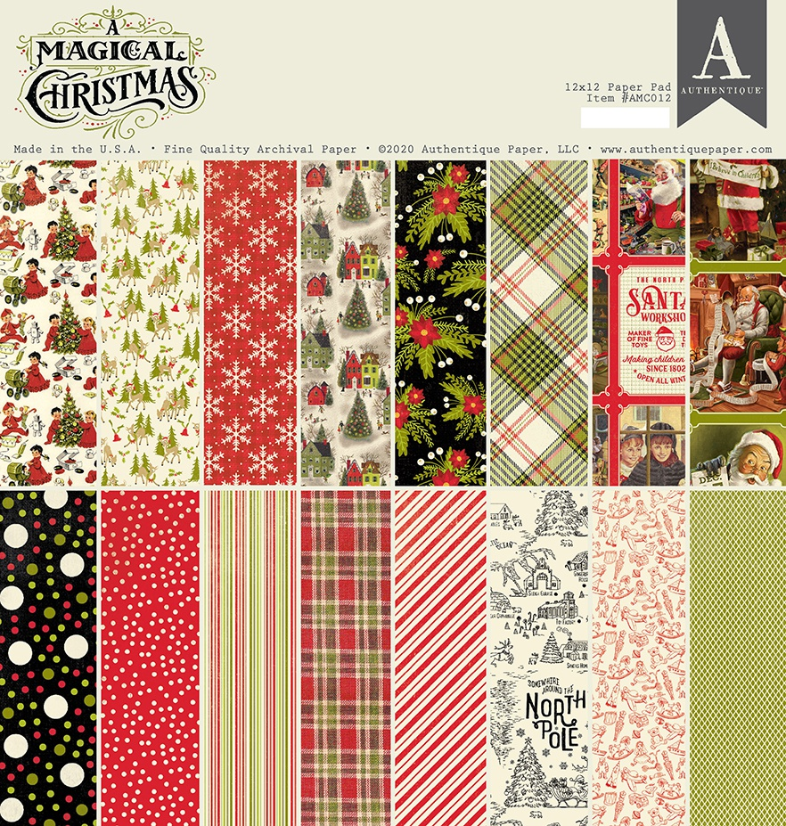 A Magical Christmas Pad 12X12