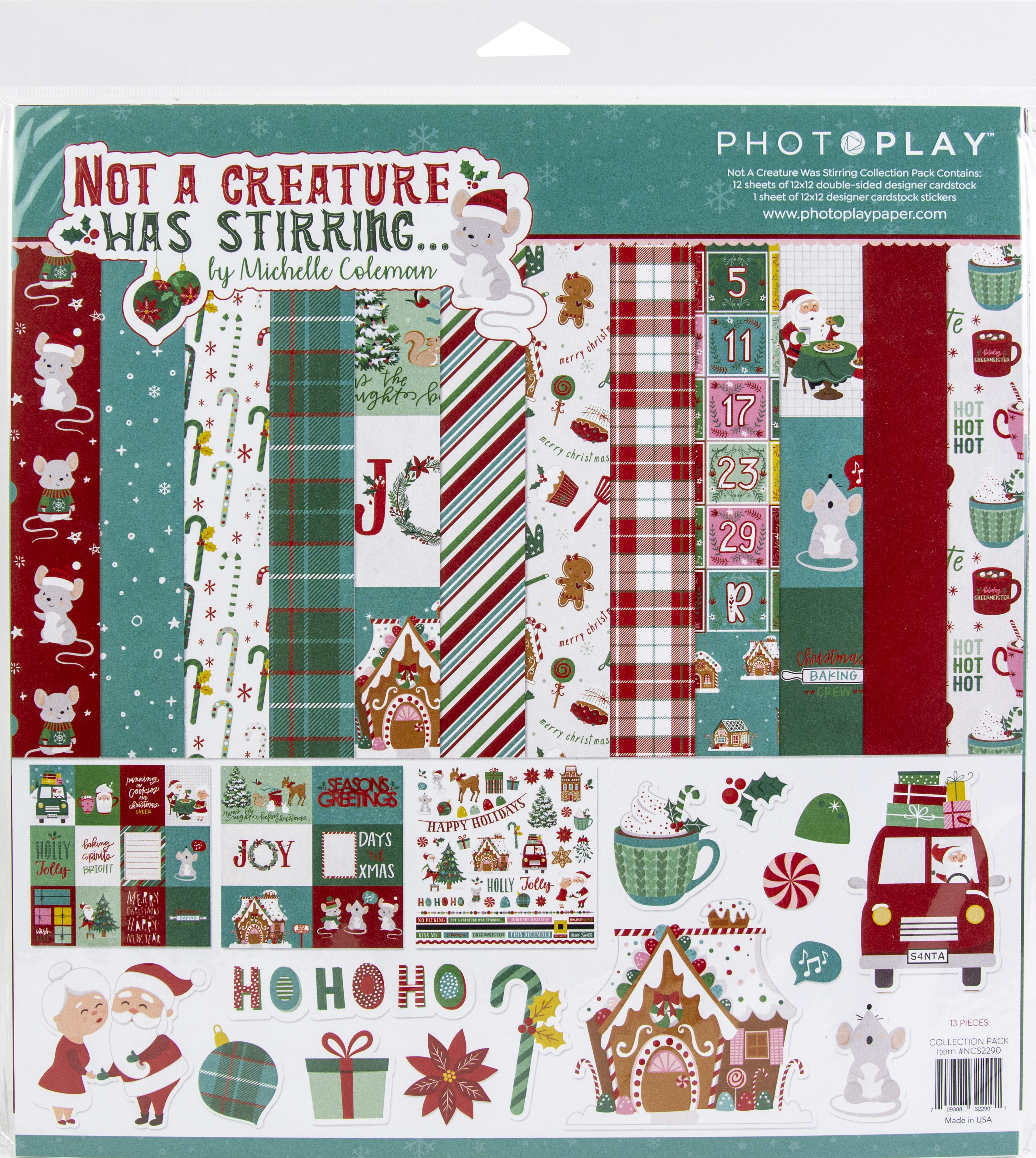 PhotoPlay Collection Pack 12X12-Not A Creature Was Stirring