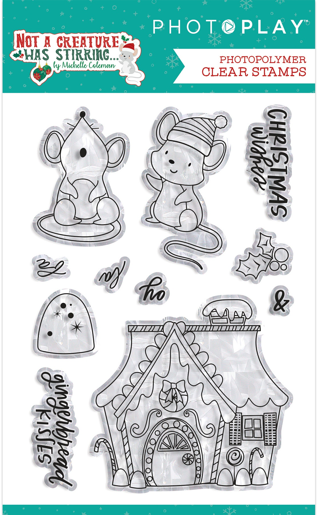 PhotoPlay Not a Creature Was Stirring Clear Stamps