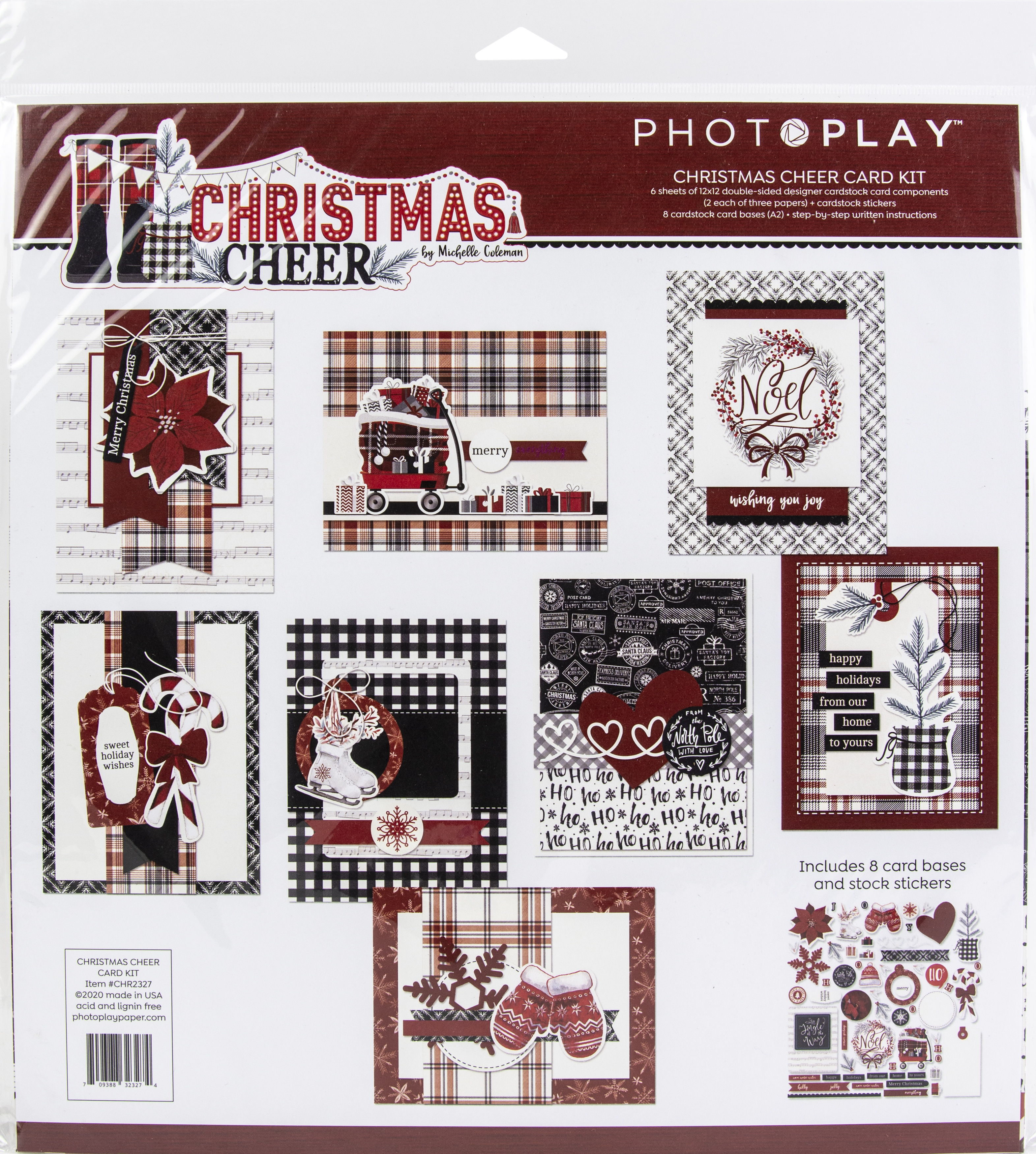 PhotoPlay Christmas Cheer - Card Kit