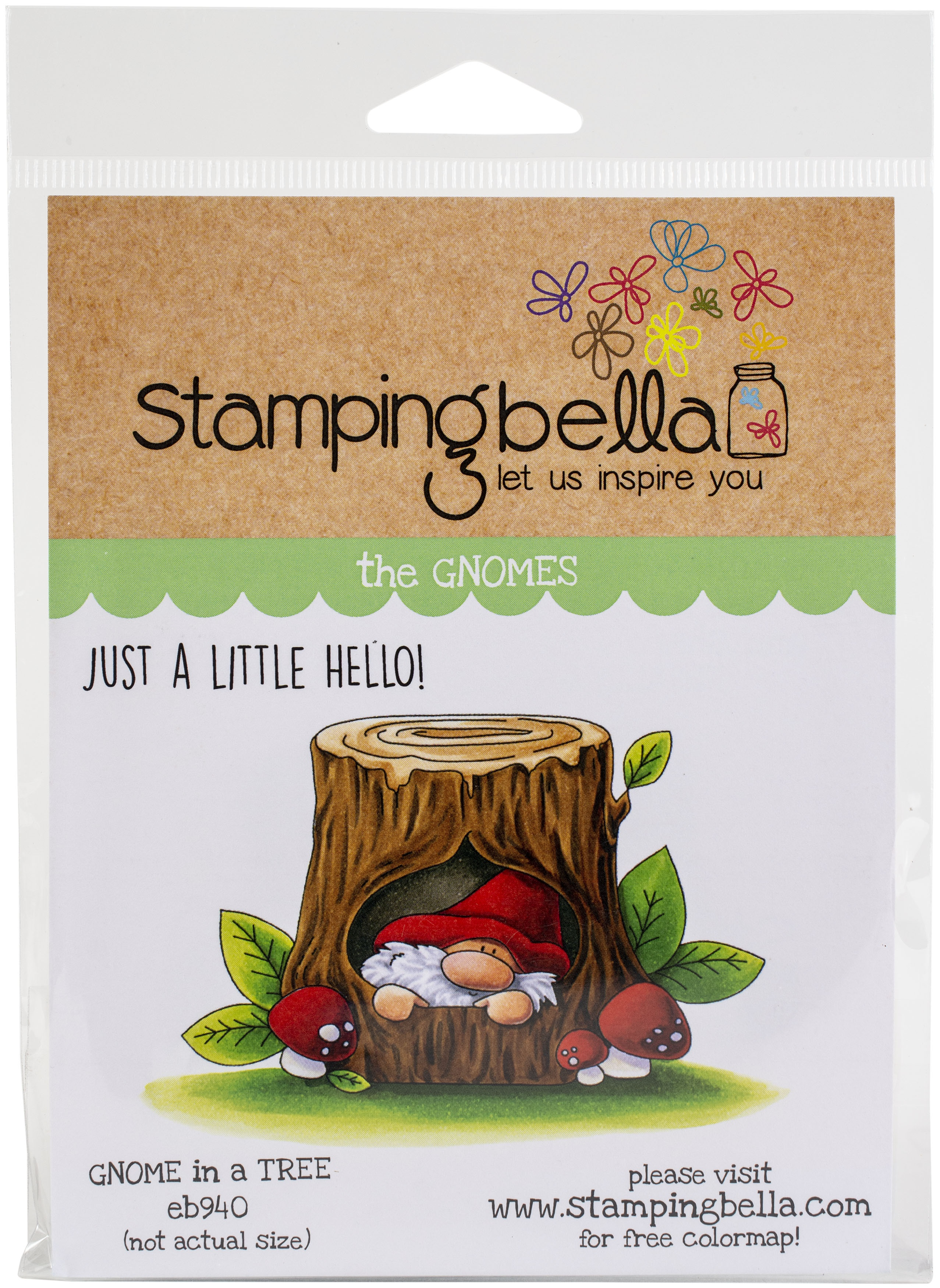 Gnome In A Tree Stamp Set