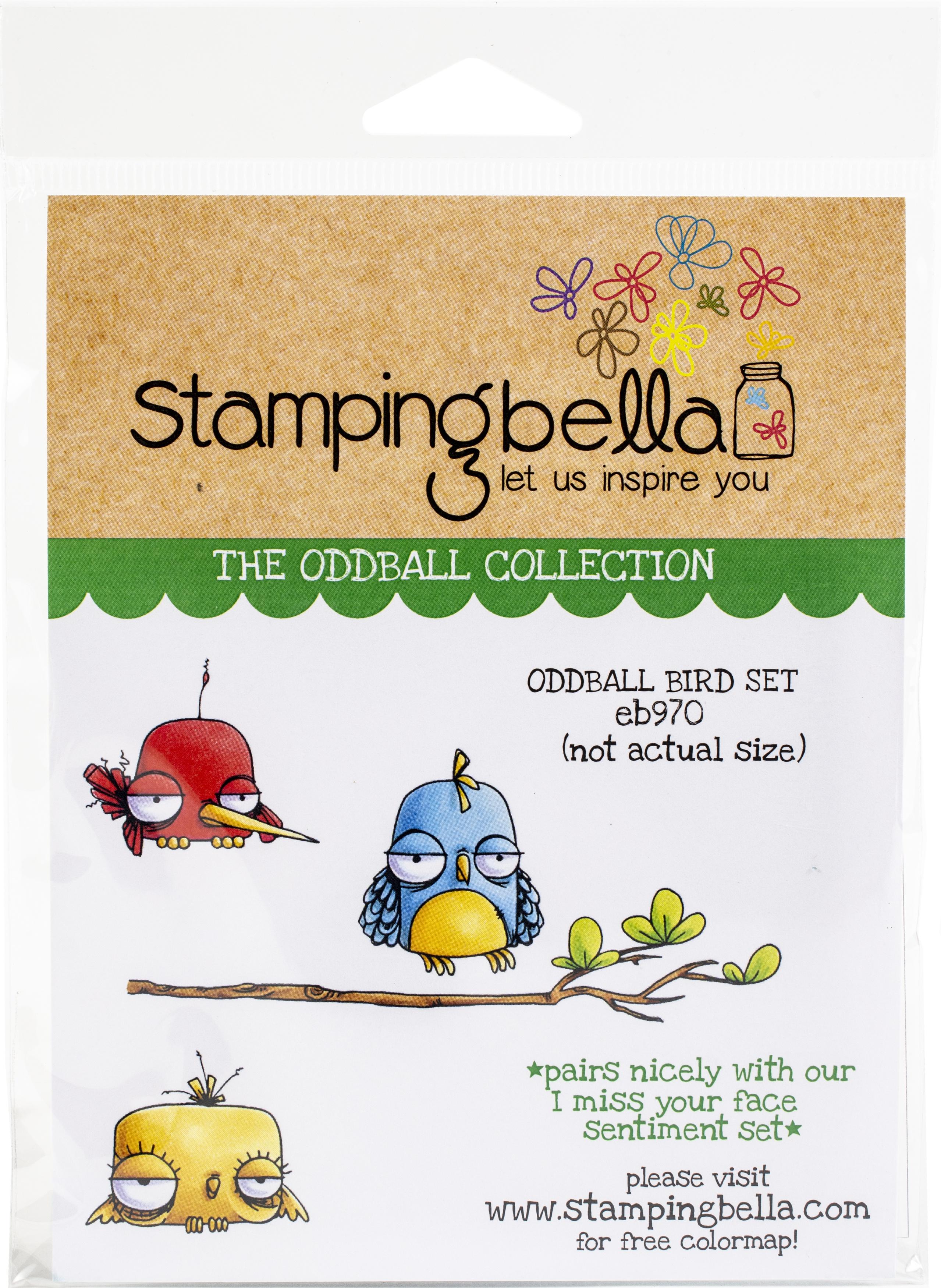 Stamping Bella Cling Stamps - Oddball Bird Set