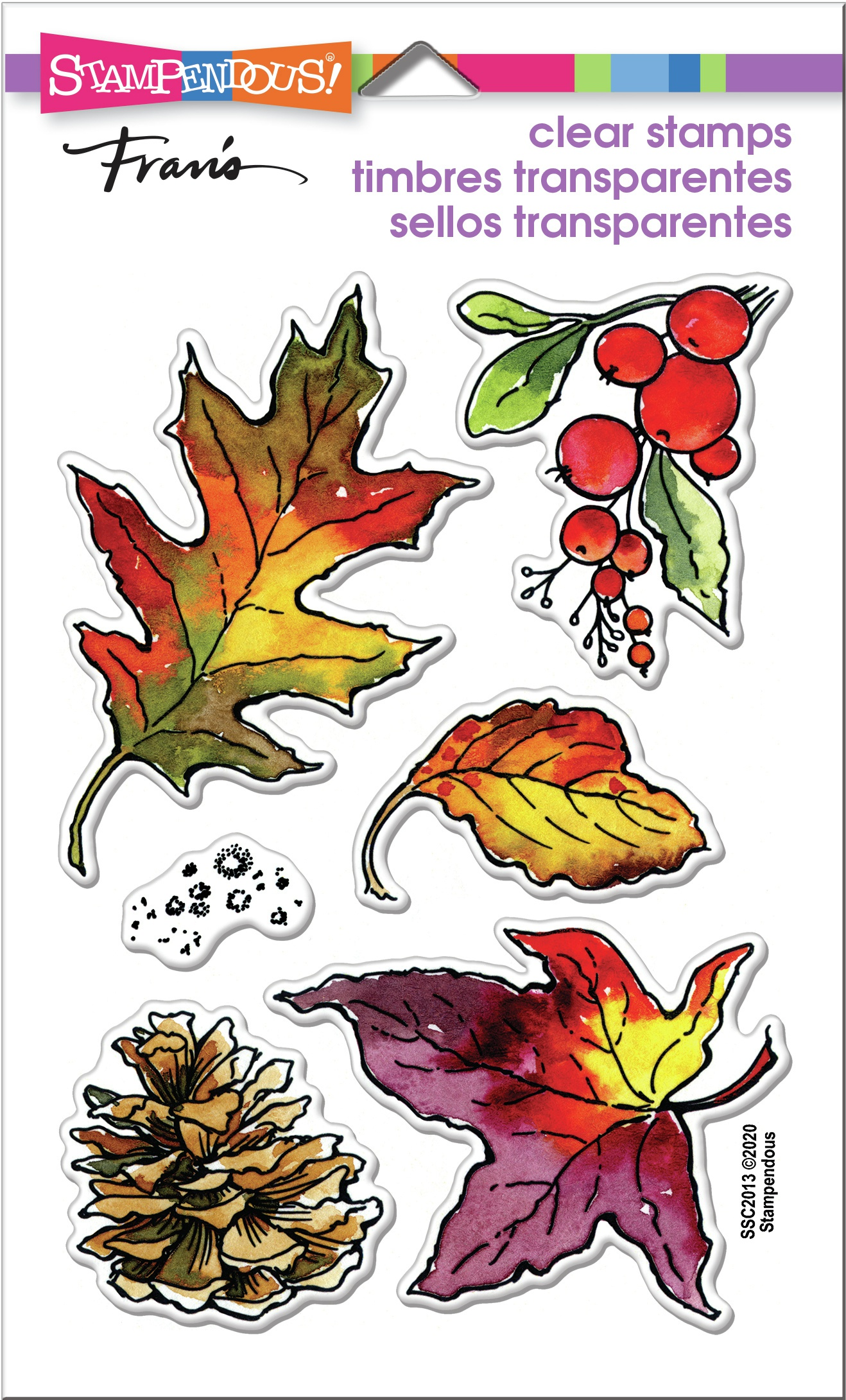 Autumn Leaves Stamp Set