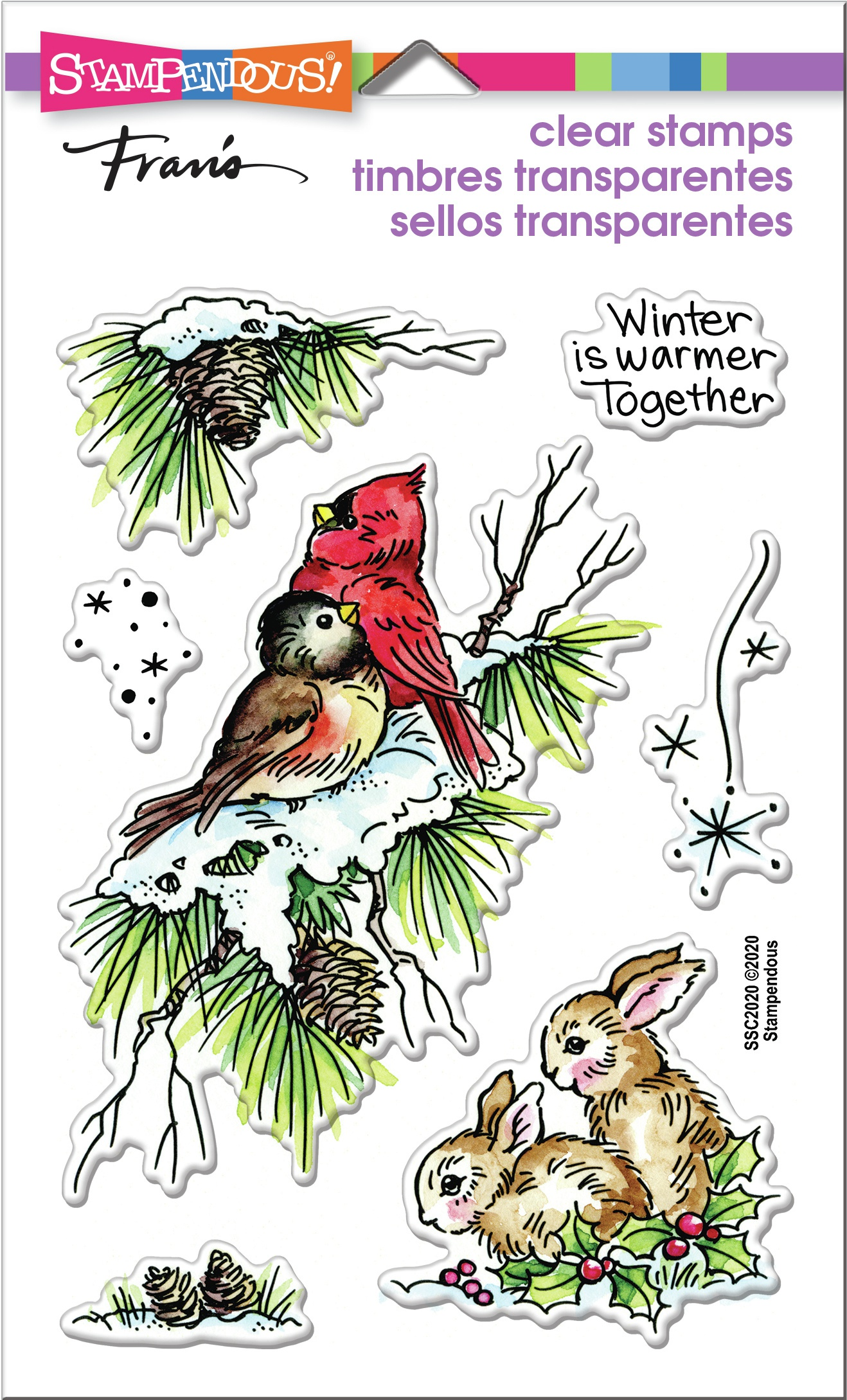 Birds & Bunnies Stamp Set