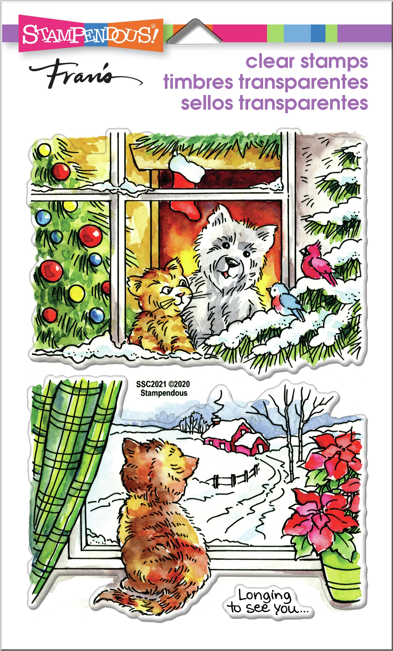 Stampendous Perfectly Clear Stamps-Window Views