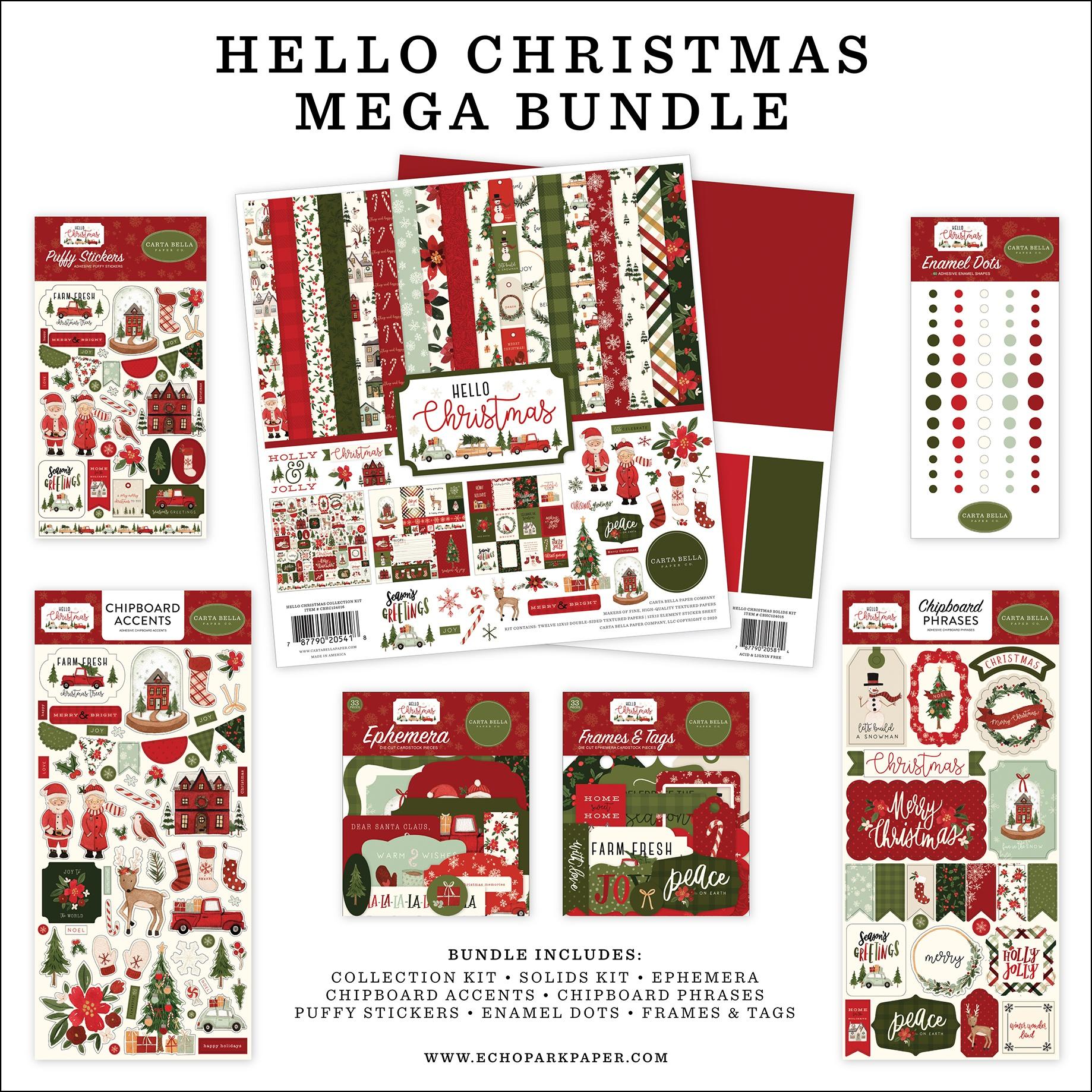 Hello Christmas Mega Bundle Collection Kit