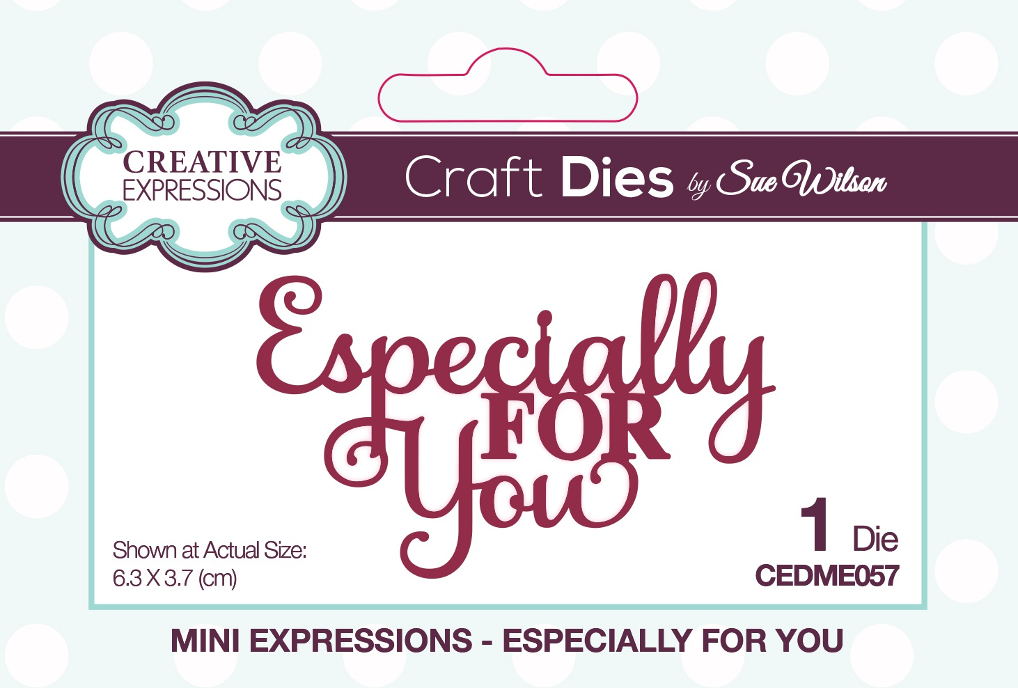 Creative Expressions Craft Dies By Sue Wilson-Mini Expressions- Especially For Y...