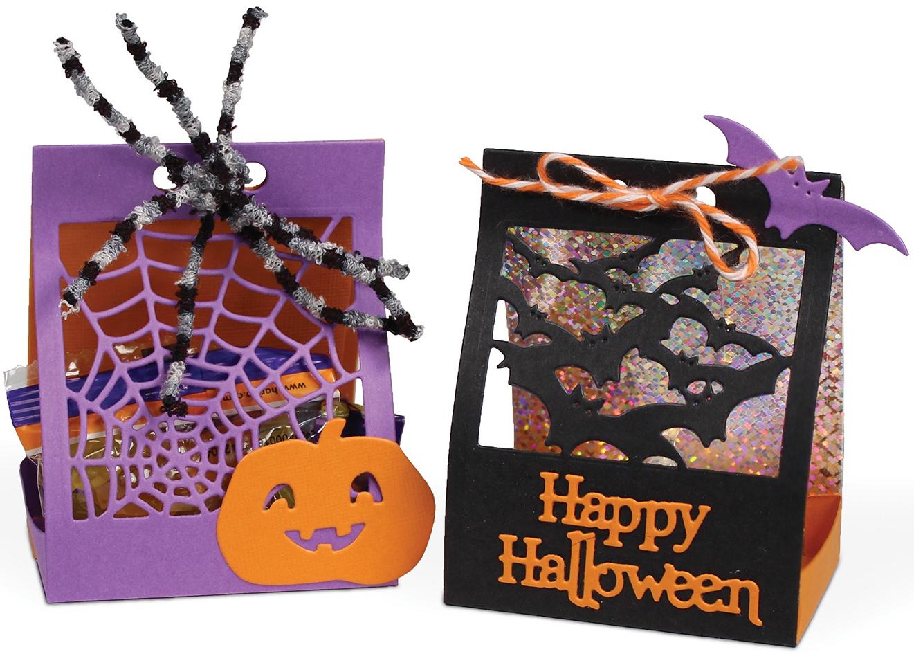 i-crafter Dies-Halloween Treat Lantern