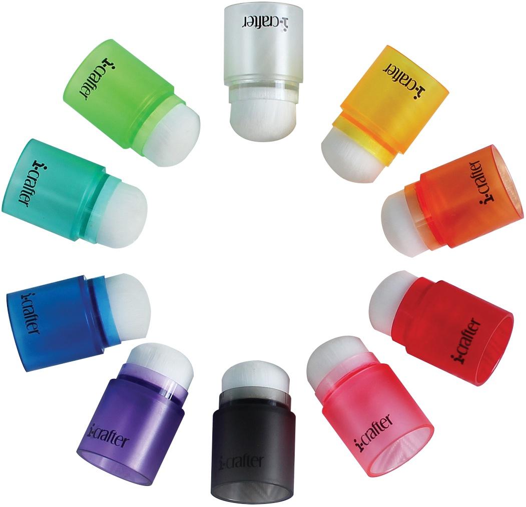 i-crafter-Blender Brushes 10/Pkg-