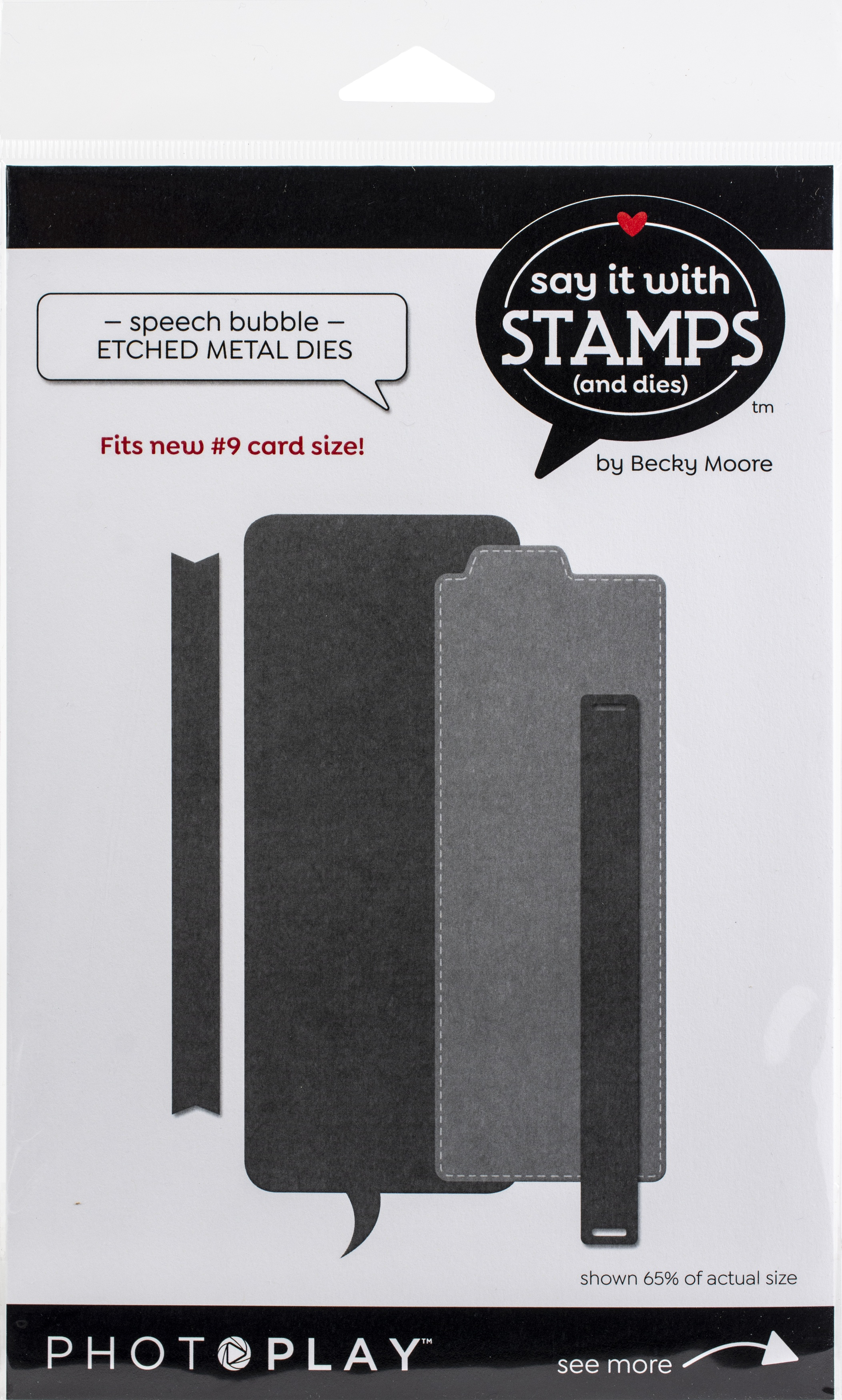 PhotoPlay Say It With Stamps Die Set-#9 Speech Bubble