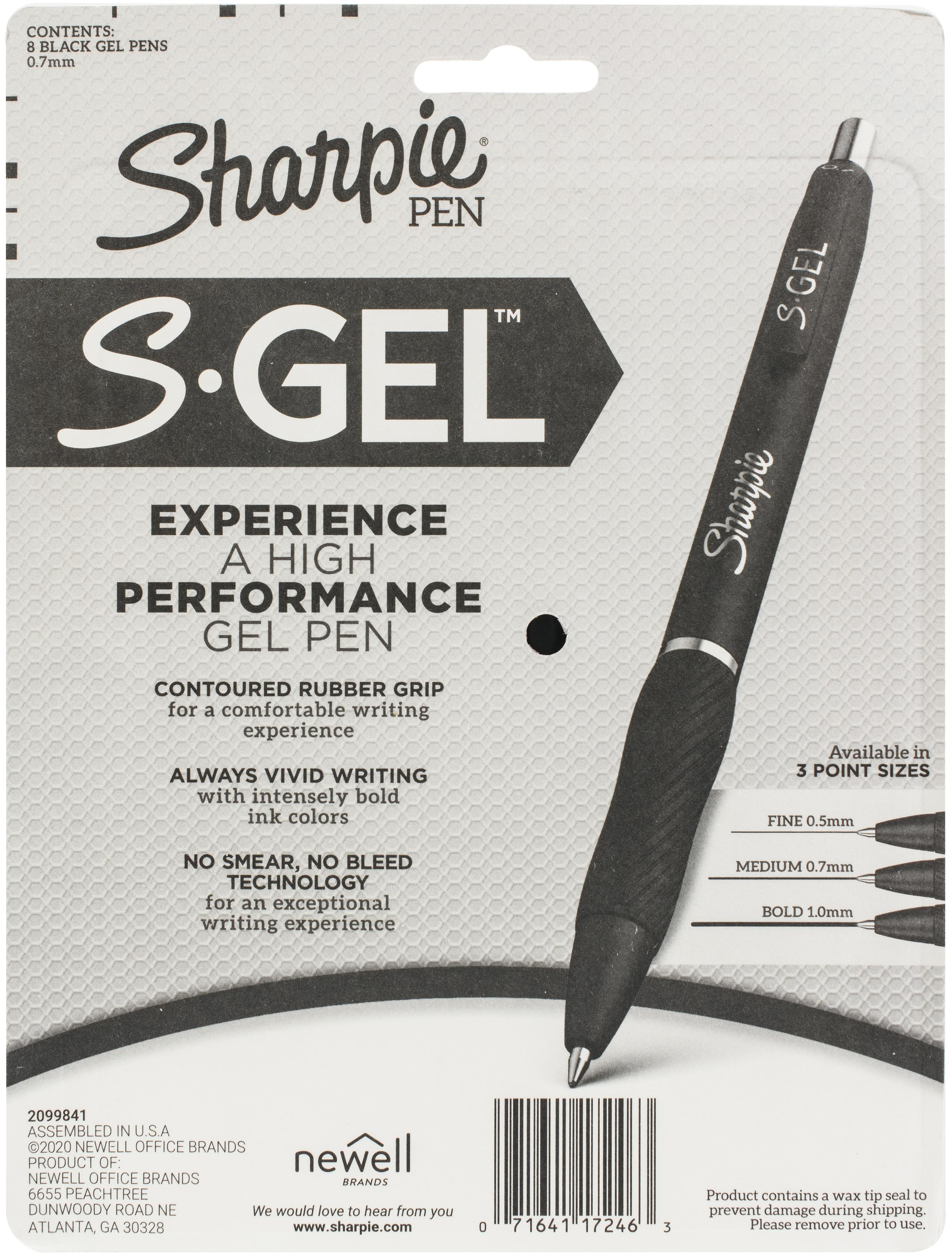 Sharpie S-Gel .7mm Medium Point Pen-Black