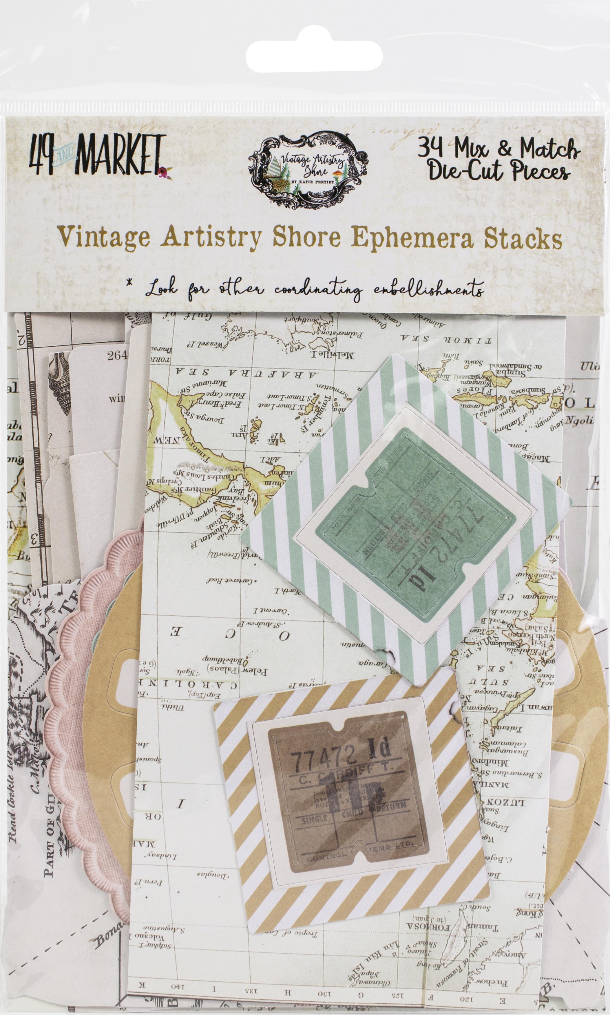 Vintage Artistry Shore Collage Stack-
