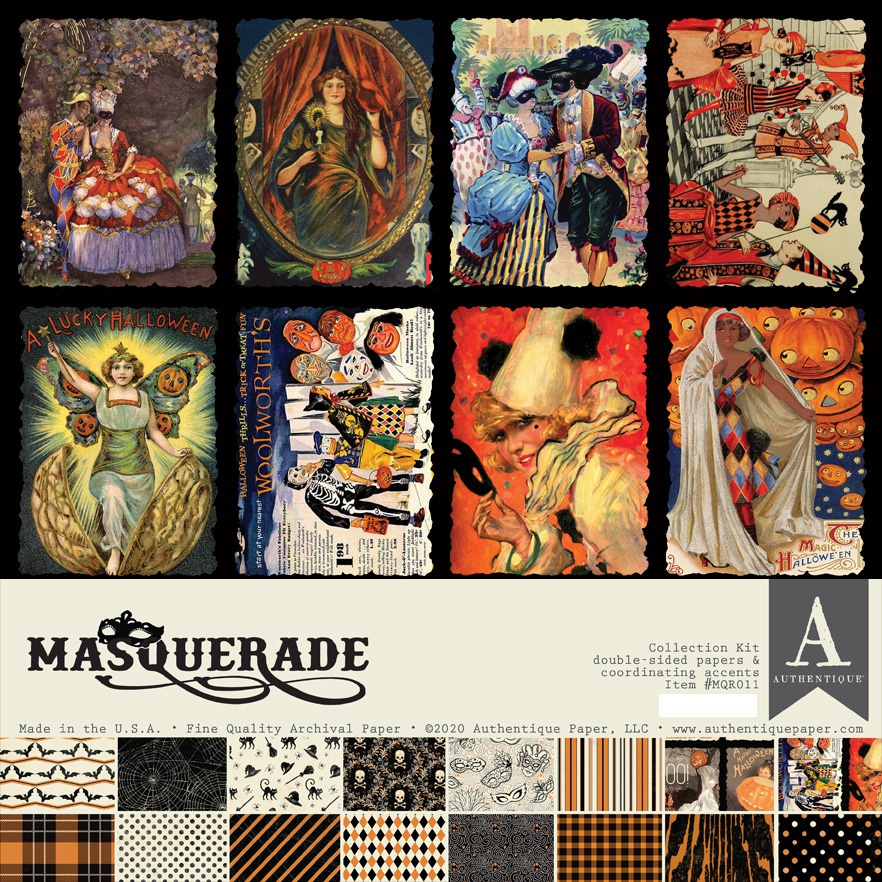 Authentique Collection Kit 12X12-Masquerade