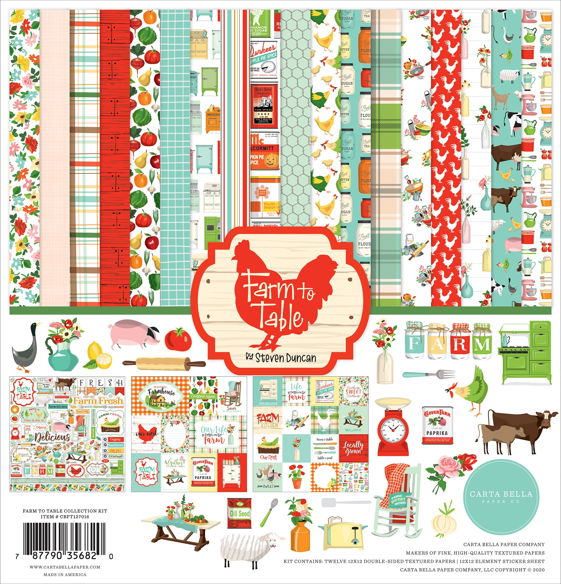 Farm to Table- Collection Kit