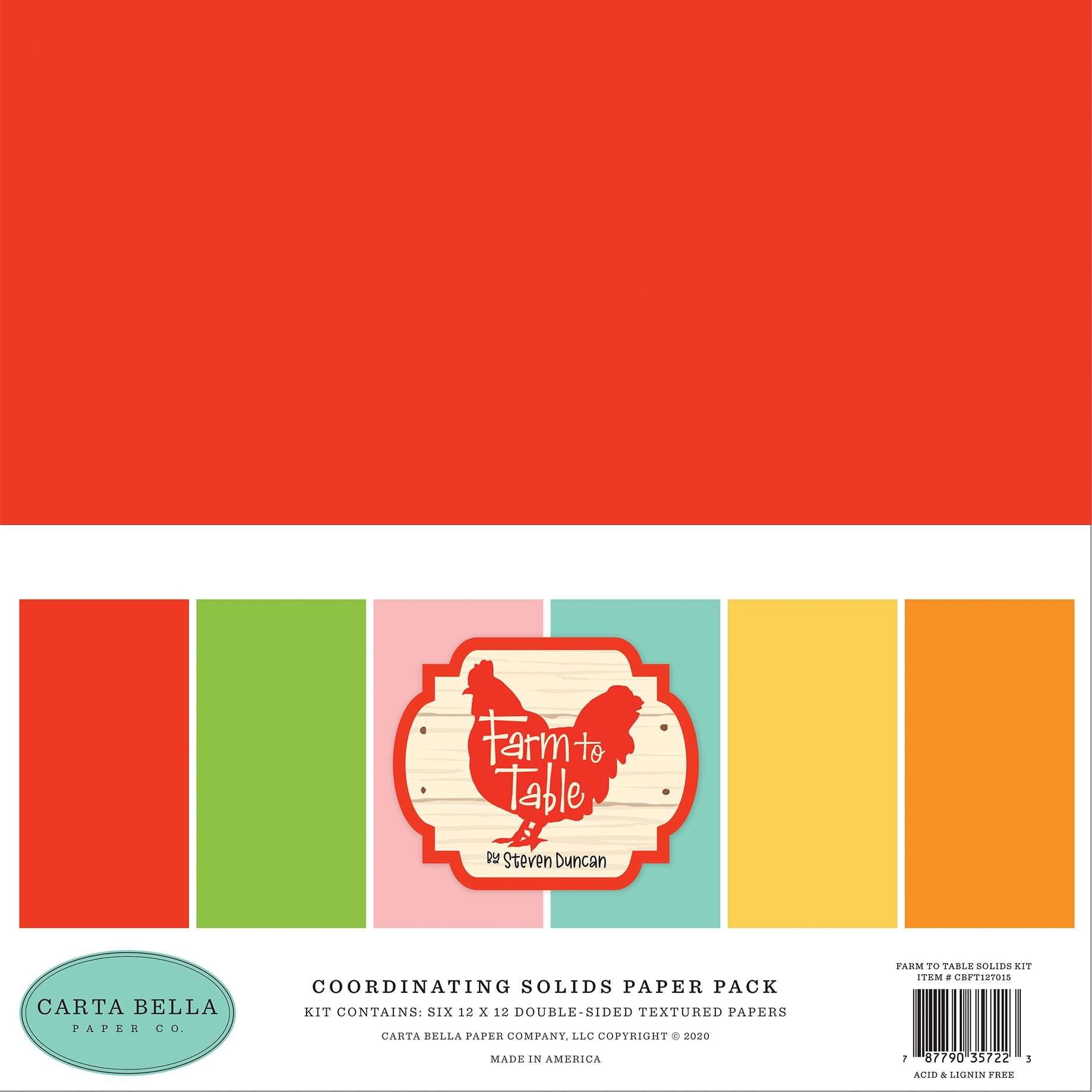 Farm to Table- Solid Cardstock 12X12