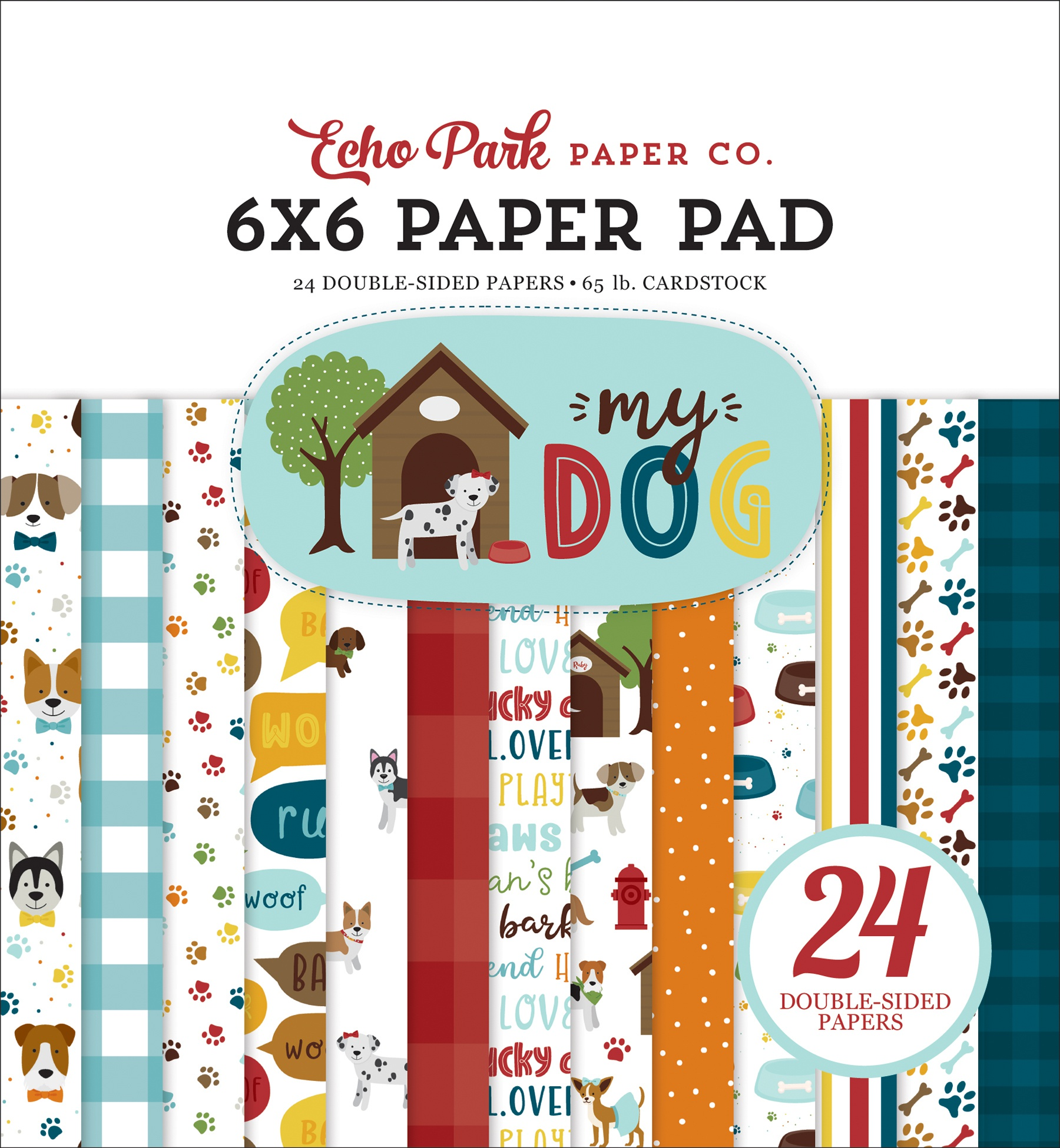 My Dog 6x6 Paper Pad