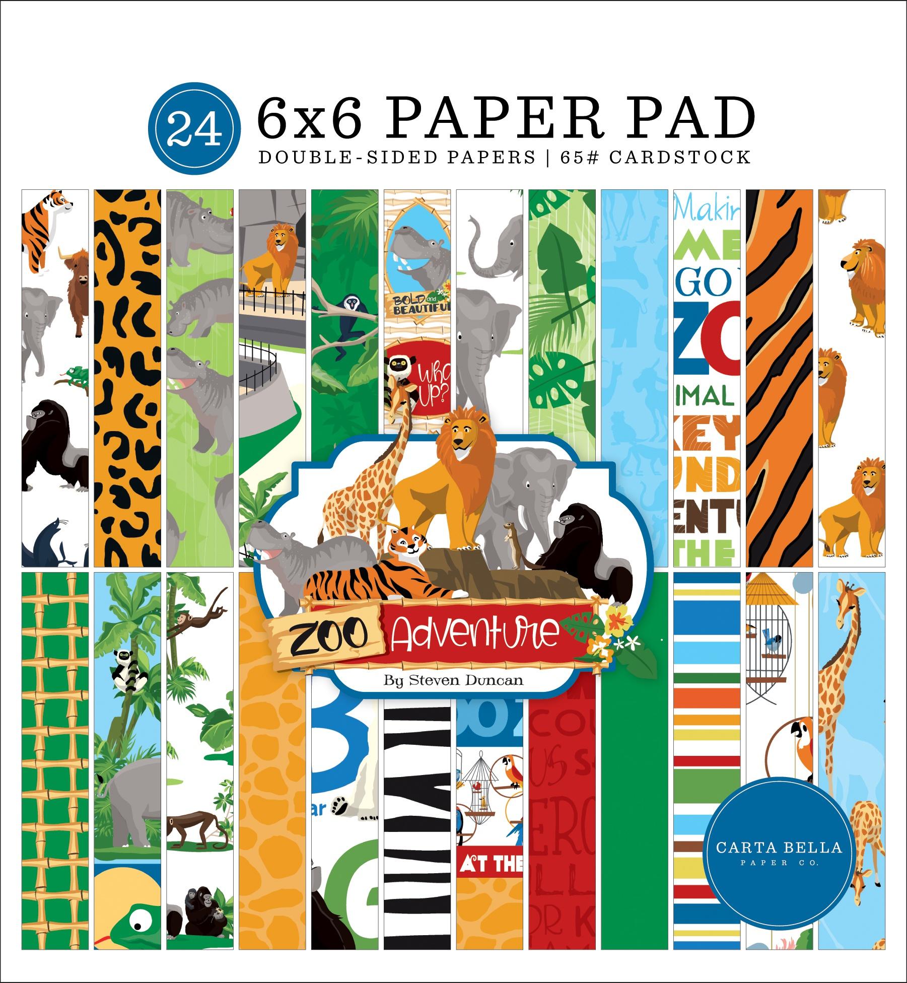 Zoo Adventure 6x6 Pad