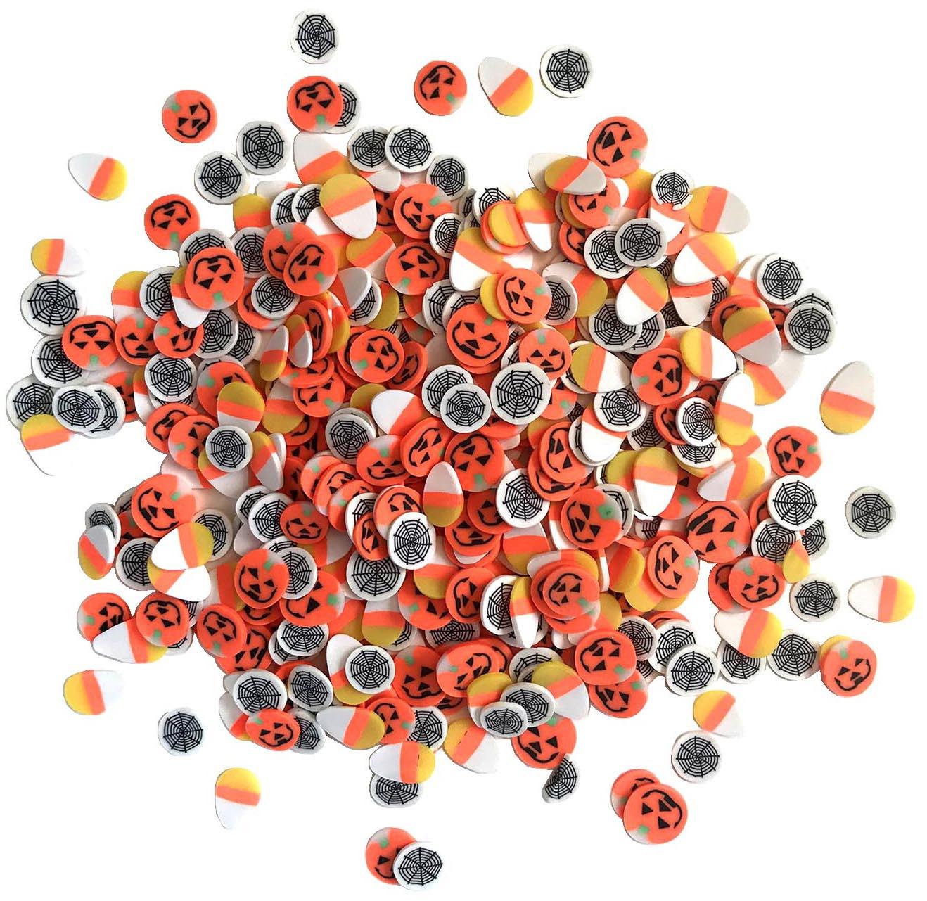 Buttons Galore Sprinkletz Embellishments 12g-October 31st