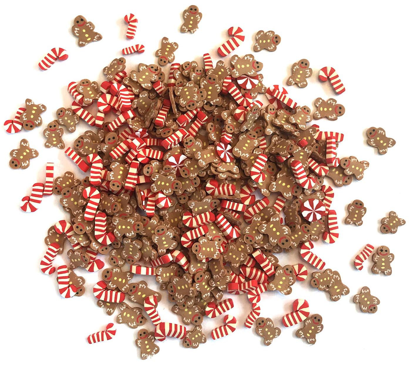 Buttons Galore Sprinkletz Embellishments 12g-Santa's Treats
