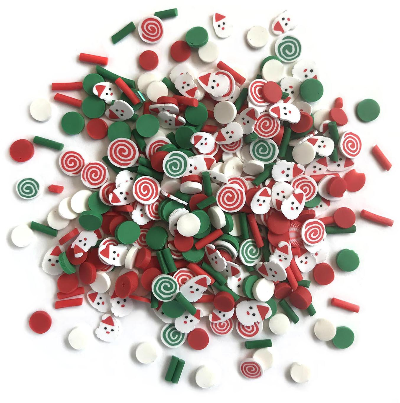 Buttons Galore Sprinkletz Embellishments 12g-Saint Nick