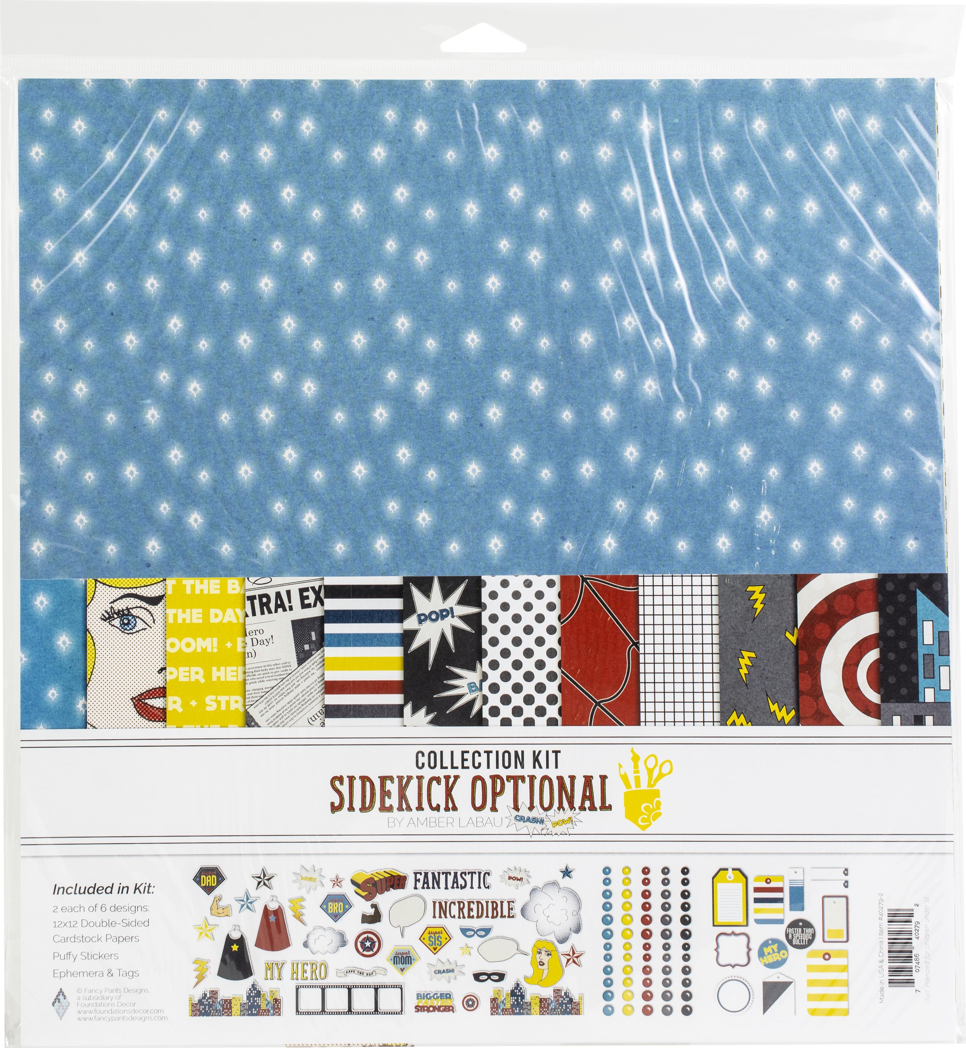 Fancy Pants Designs Sidekick Optional Collection Kit 12x12