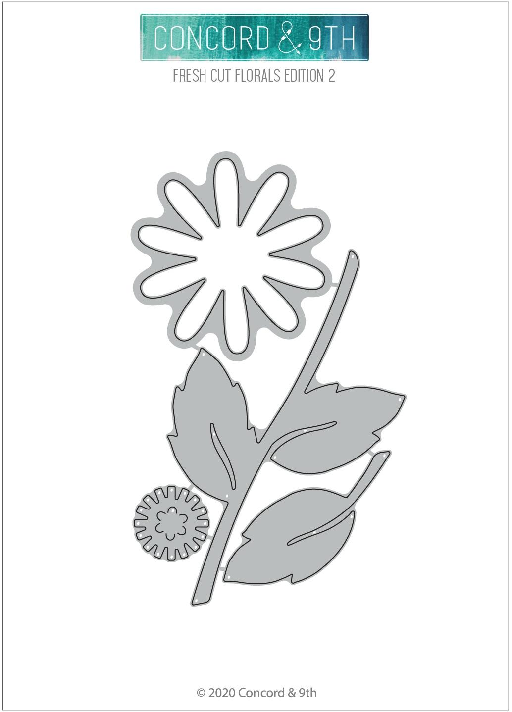 Concord & 9th Dies-Fresh Cut Florals Edition 2
