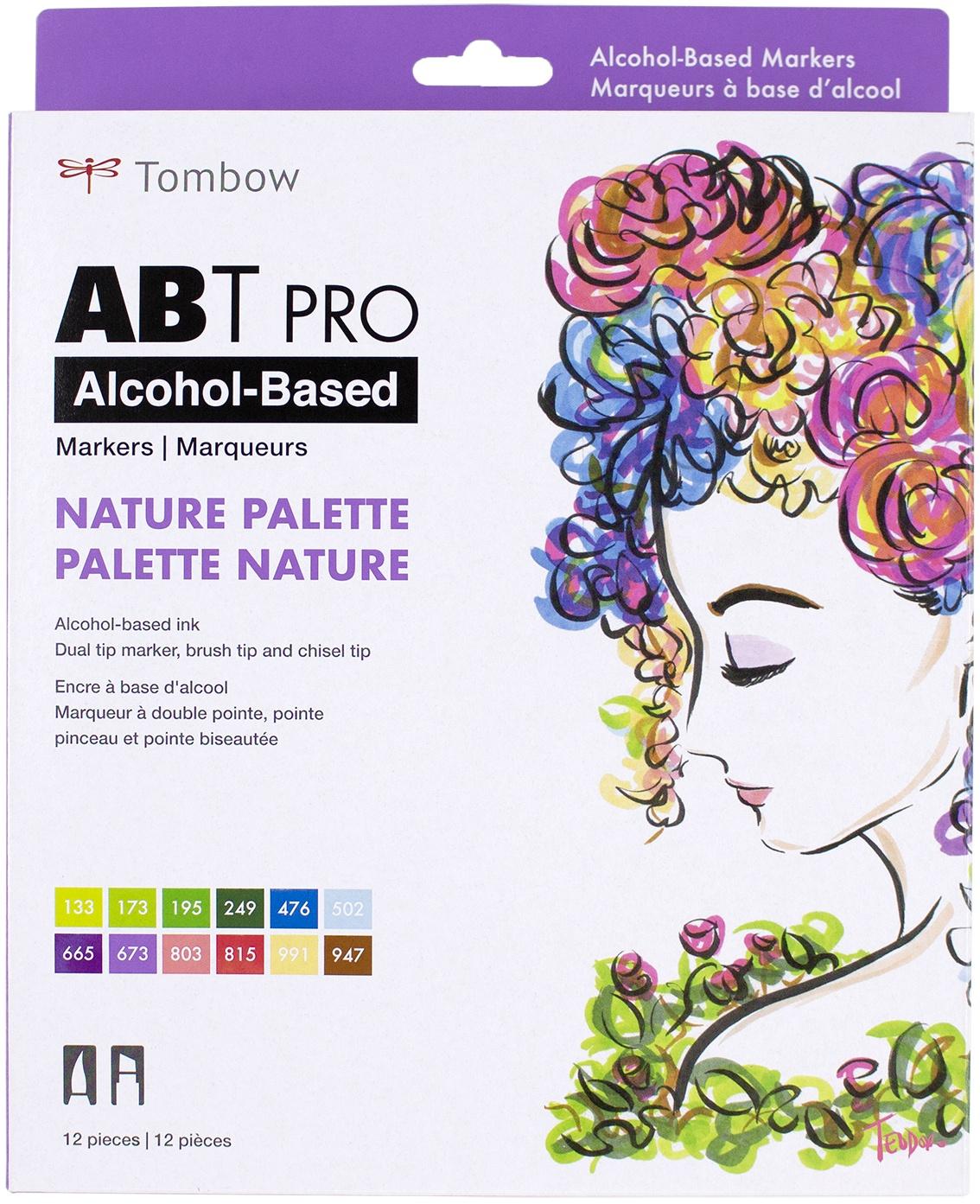 ABT Pro COlor Set 12/Pkg-Nature
