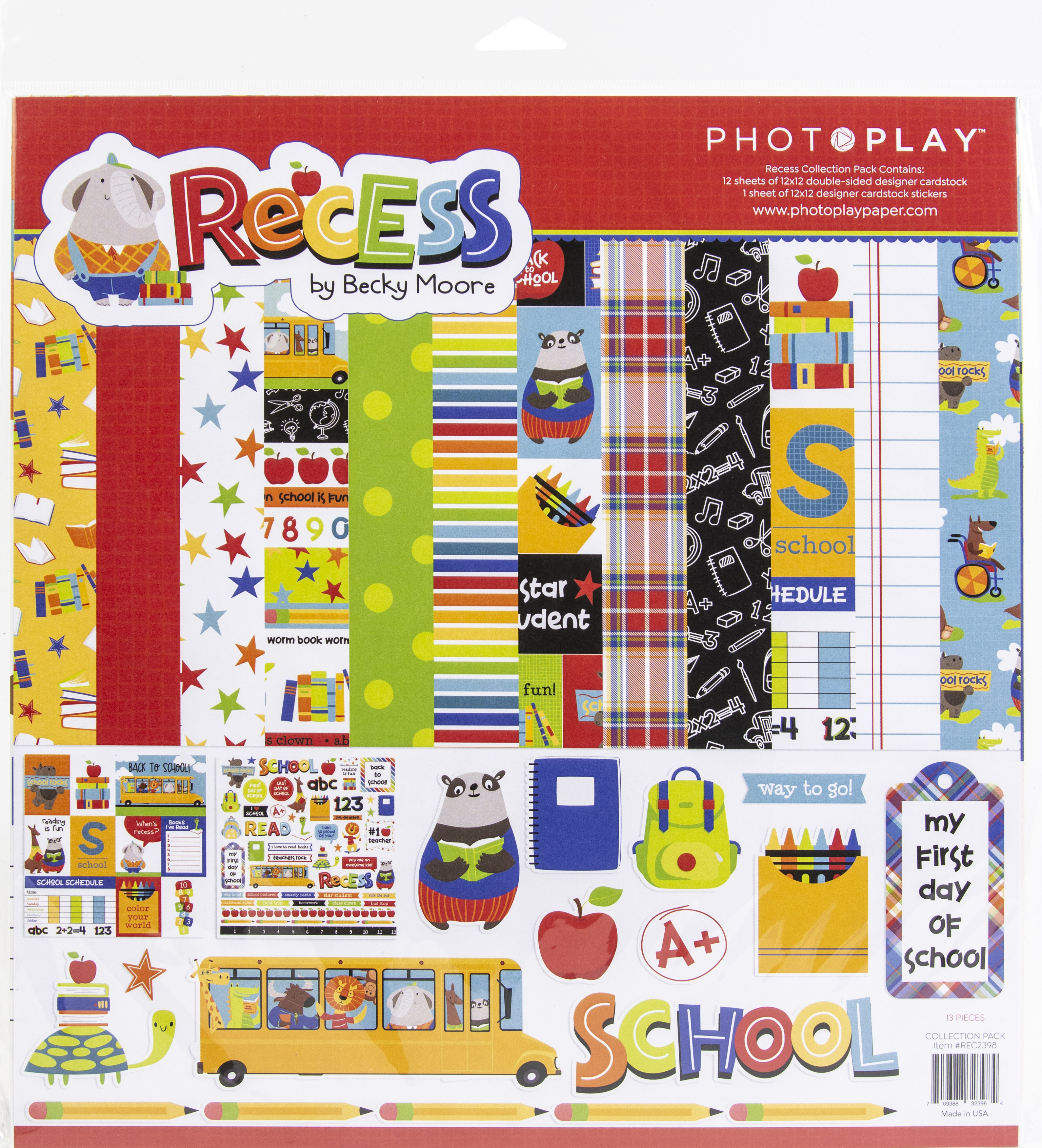 PhotoPlay Collection Pack 12X12-Recess