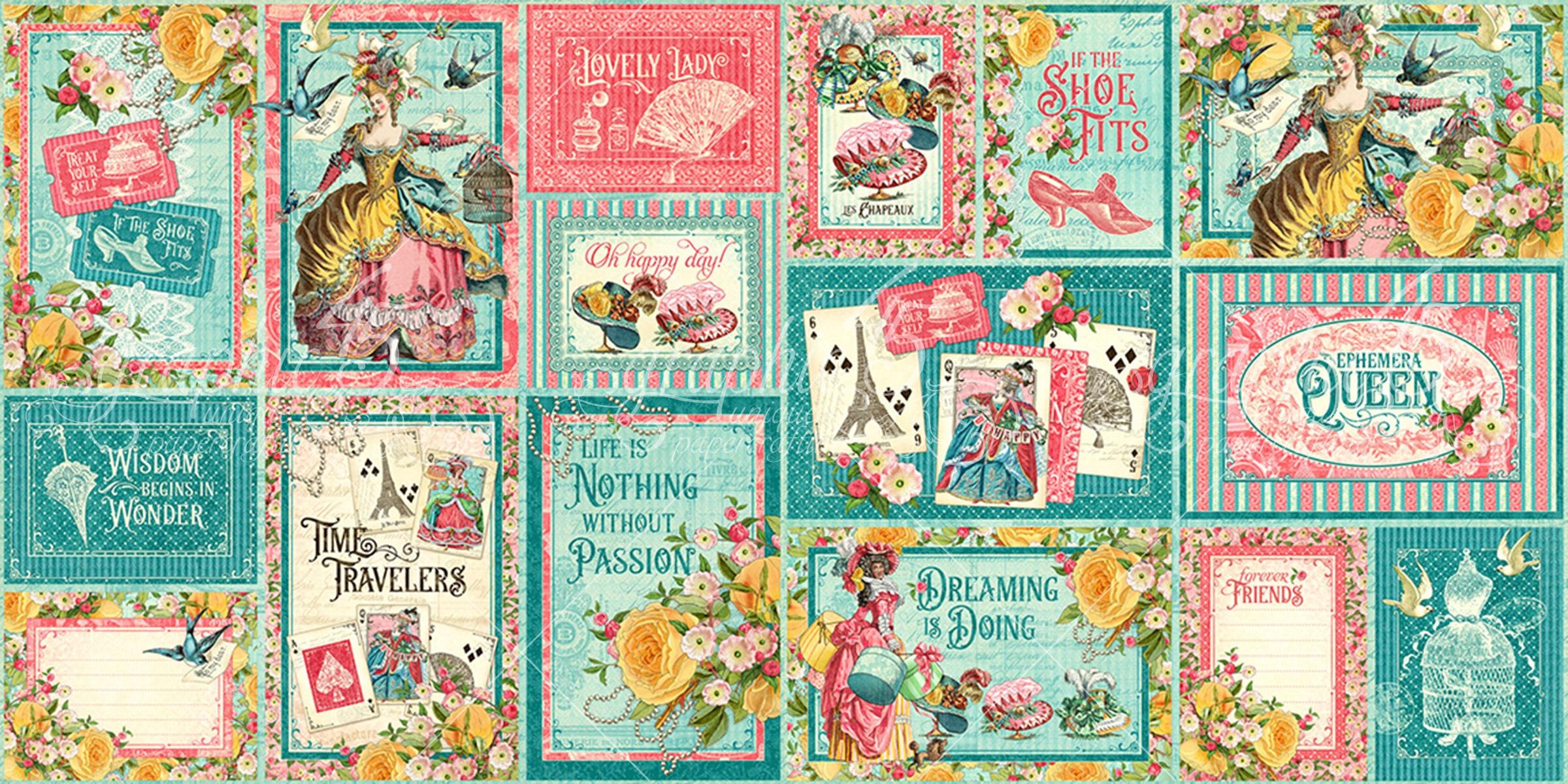Ephemera Queen Ephemera & Journaling Cards