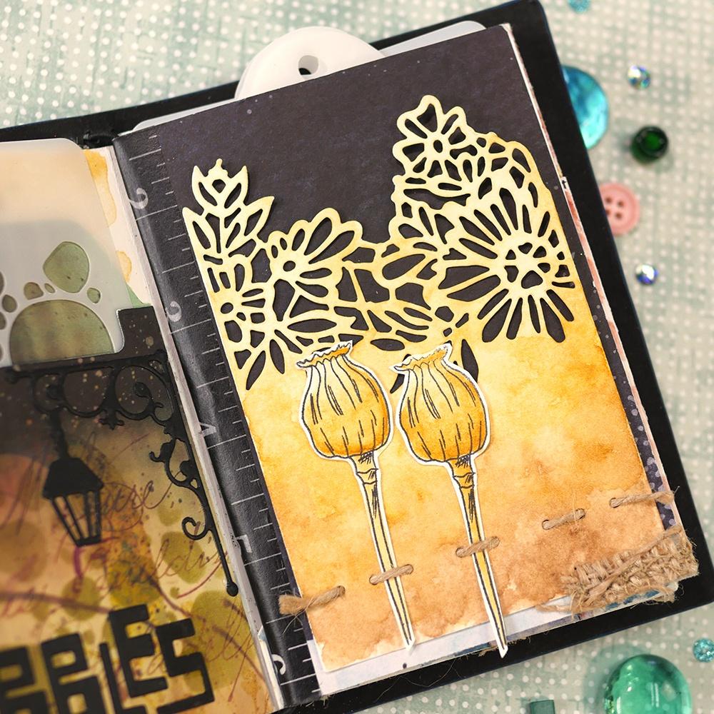 Art Journal Junk Journal Extras  Die Set
