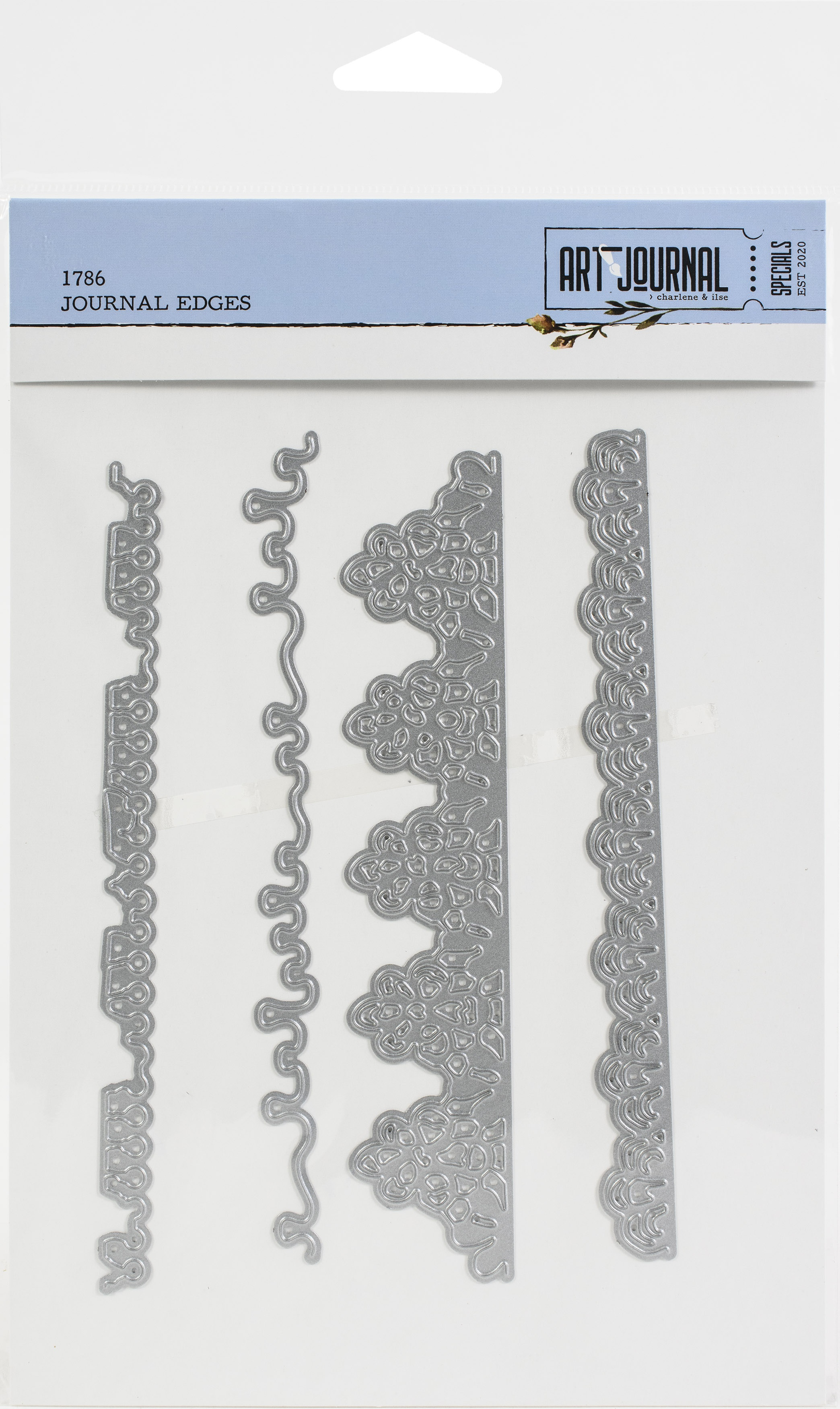 ECD -  Die- Journal Edges - Art Journal