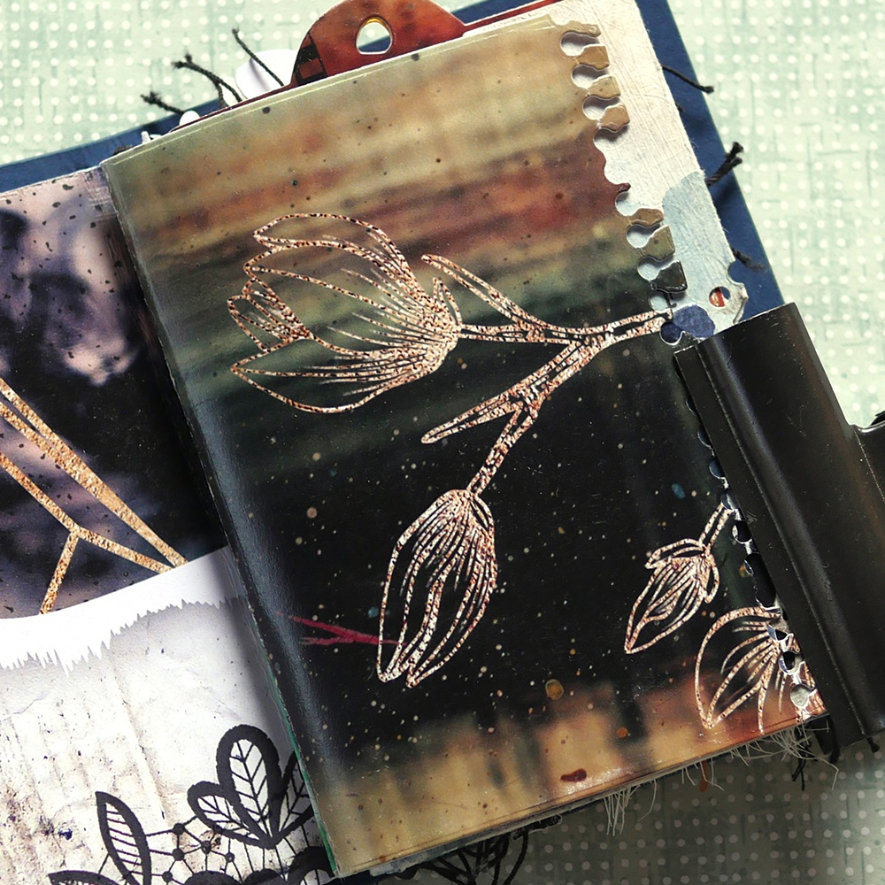 Art Journal Journal Edges Die Set