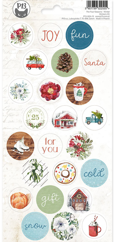 P13 The Four Seasons Winter - Stickers 03