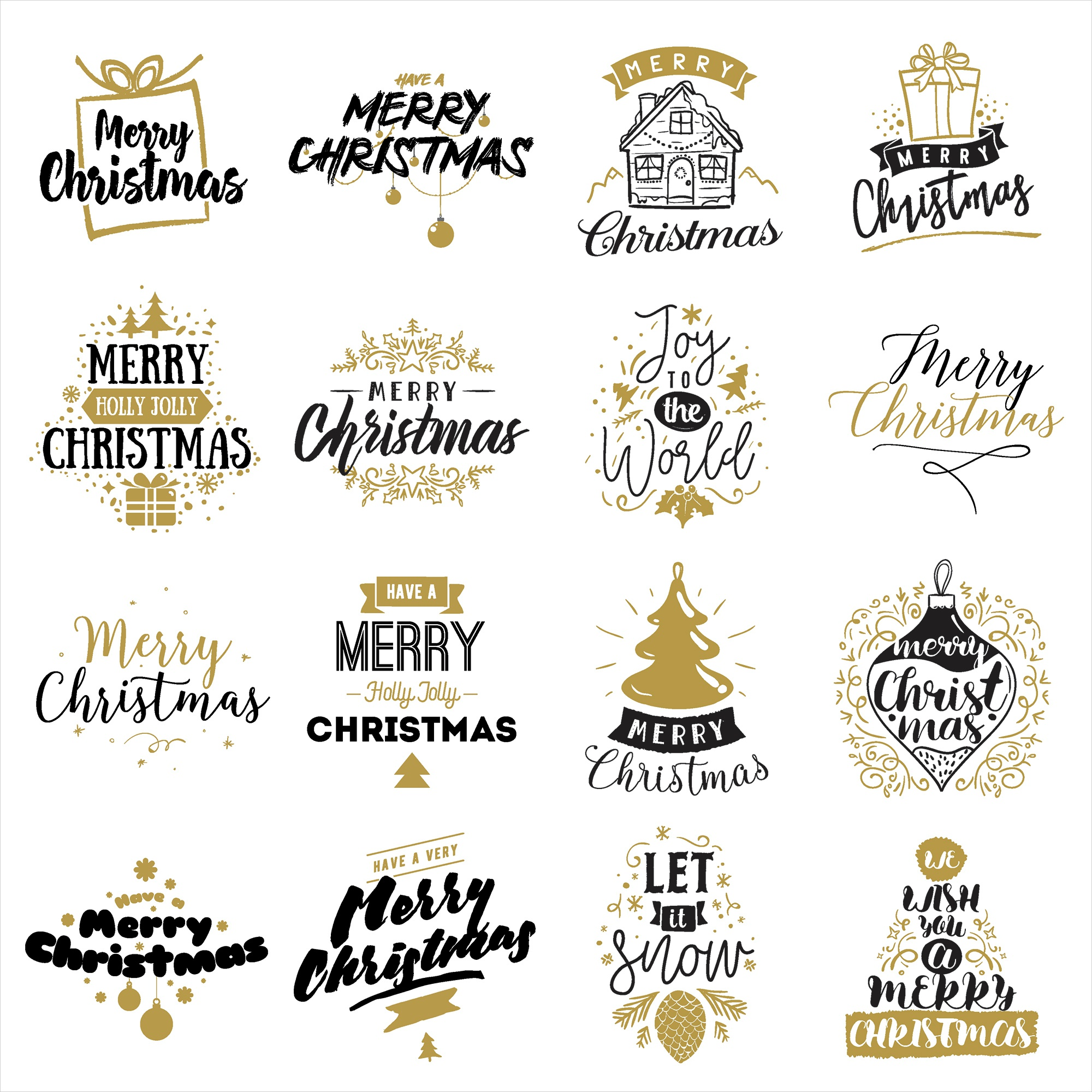 Christmas Greetings Double-Sided Cardstock -All Styles