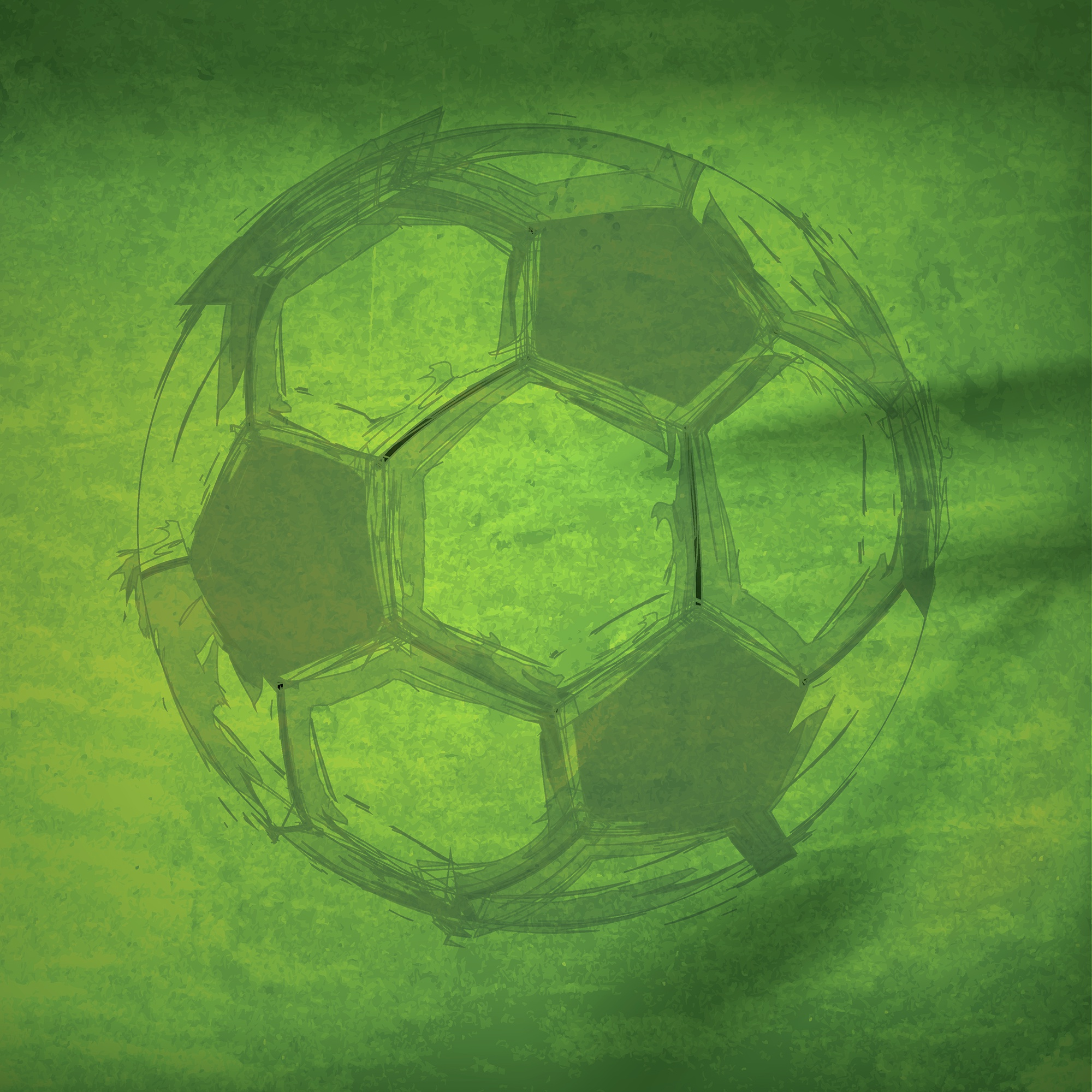 Game Day Soccer Double-Sided Cardstock 12X12-#2