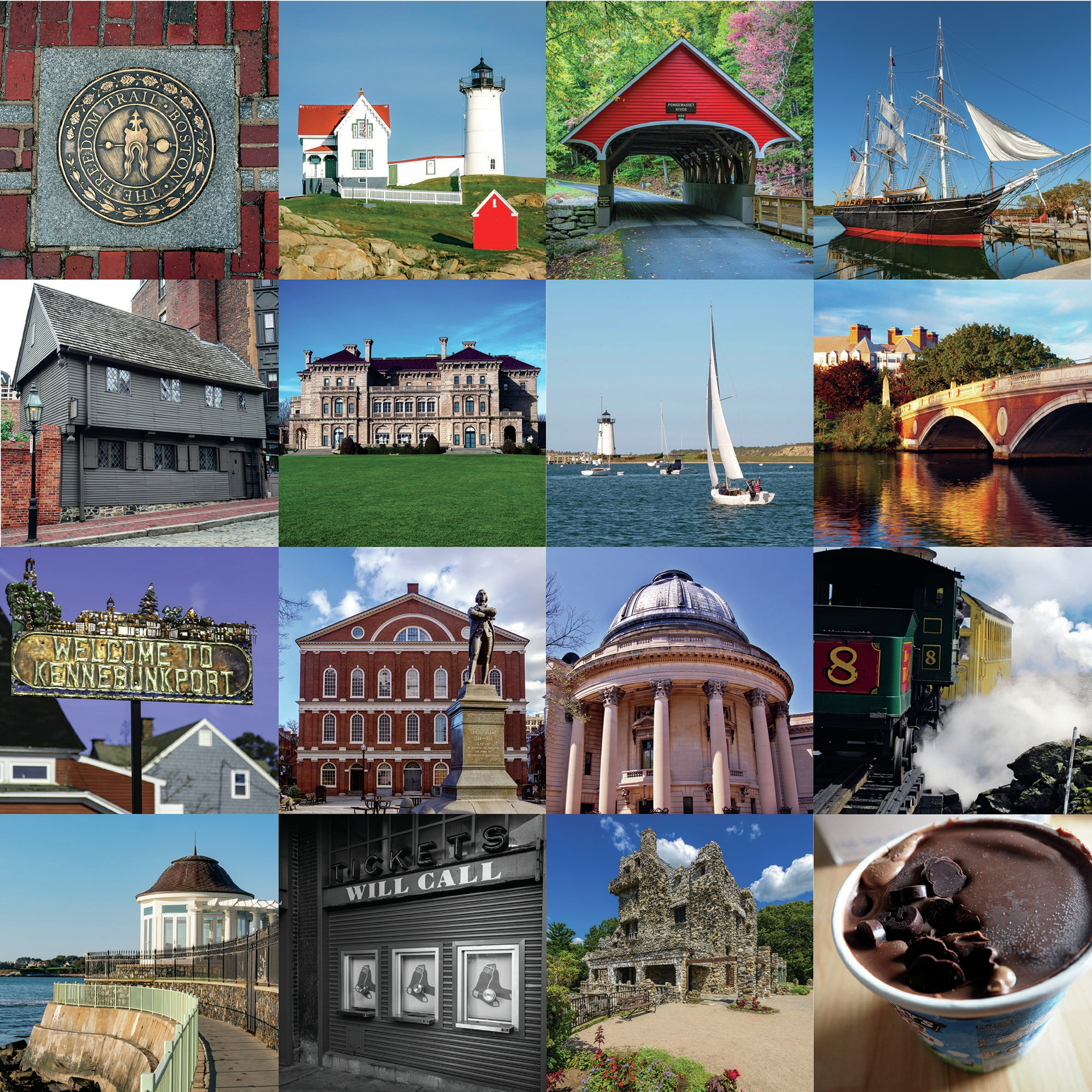 New England Double-Sided Cardstock 12X12-Stowe